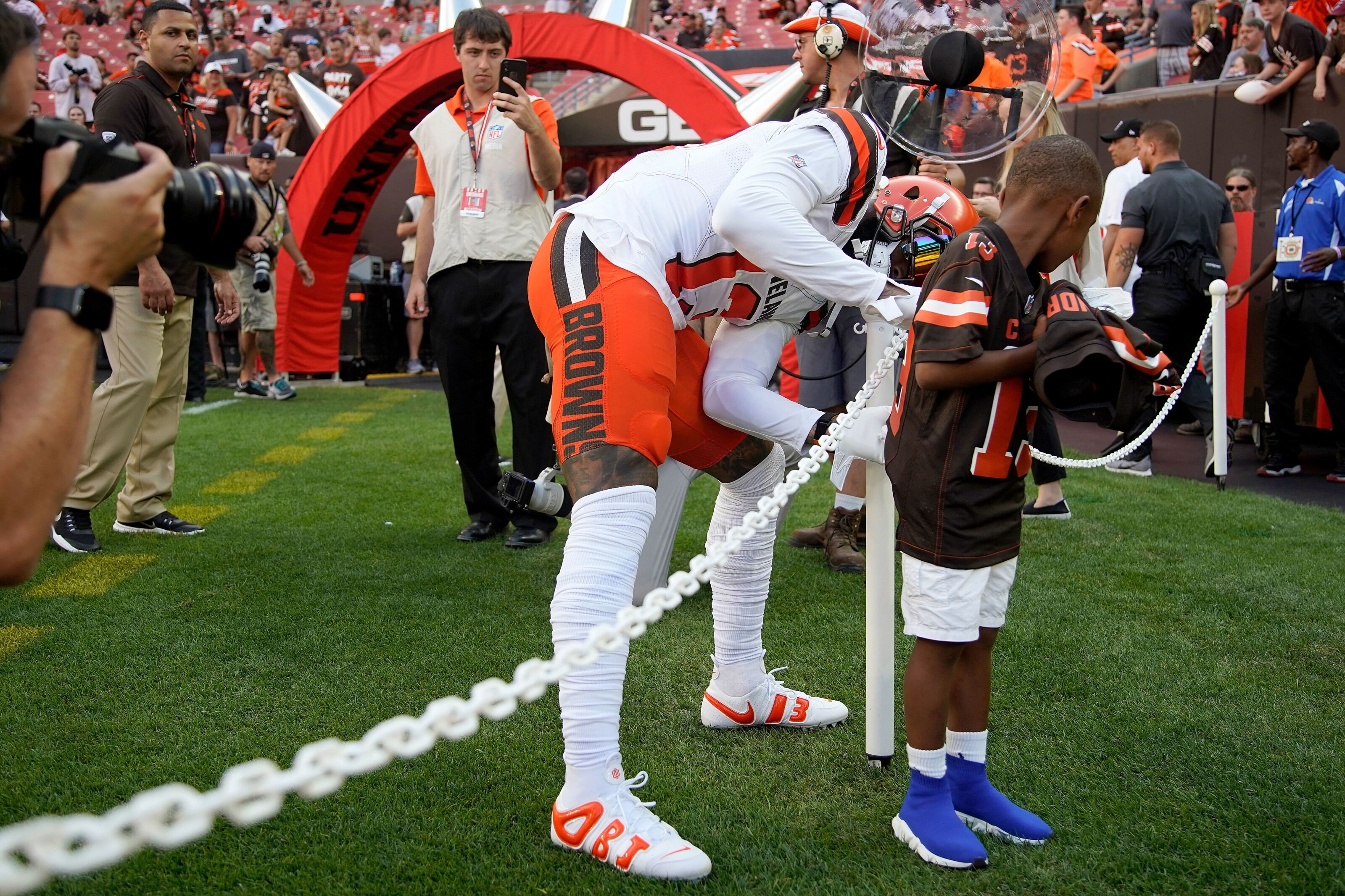 purchase cheap f0171 1b8cd Cleveland Browns News: Healthy Odell Beckham, Jr. back on ...