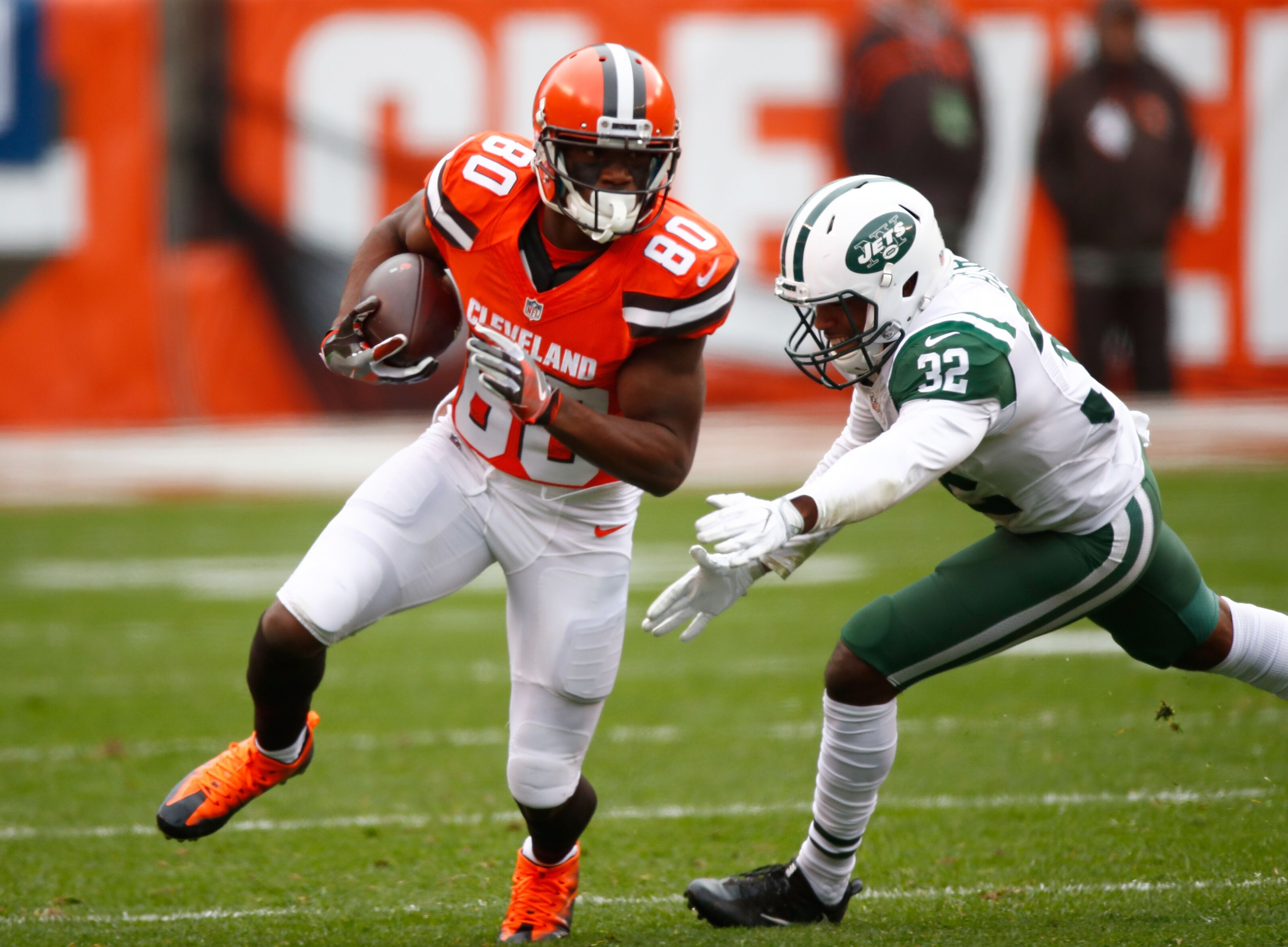 newest 0b68e 1144c Cleveland Browns: Ricardo Louis out for 2018 season