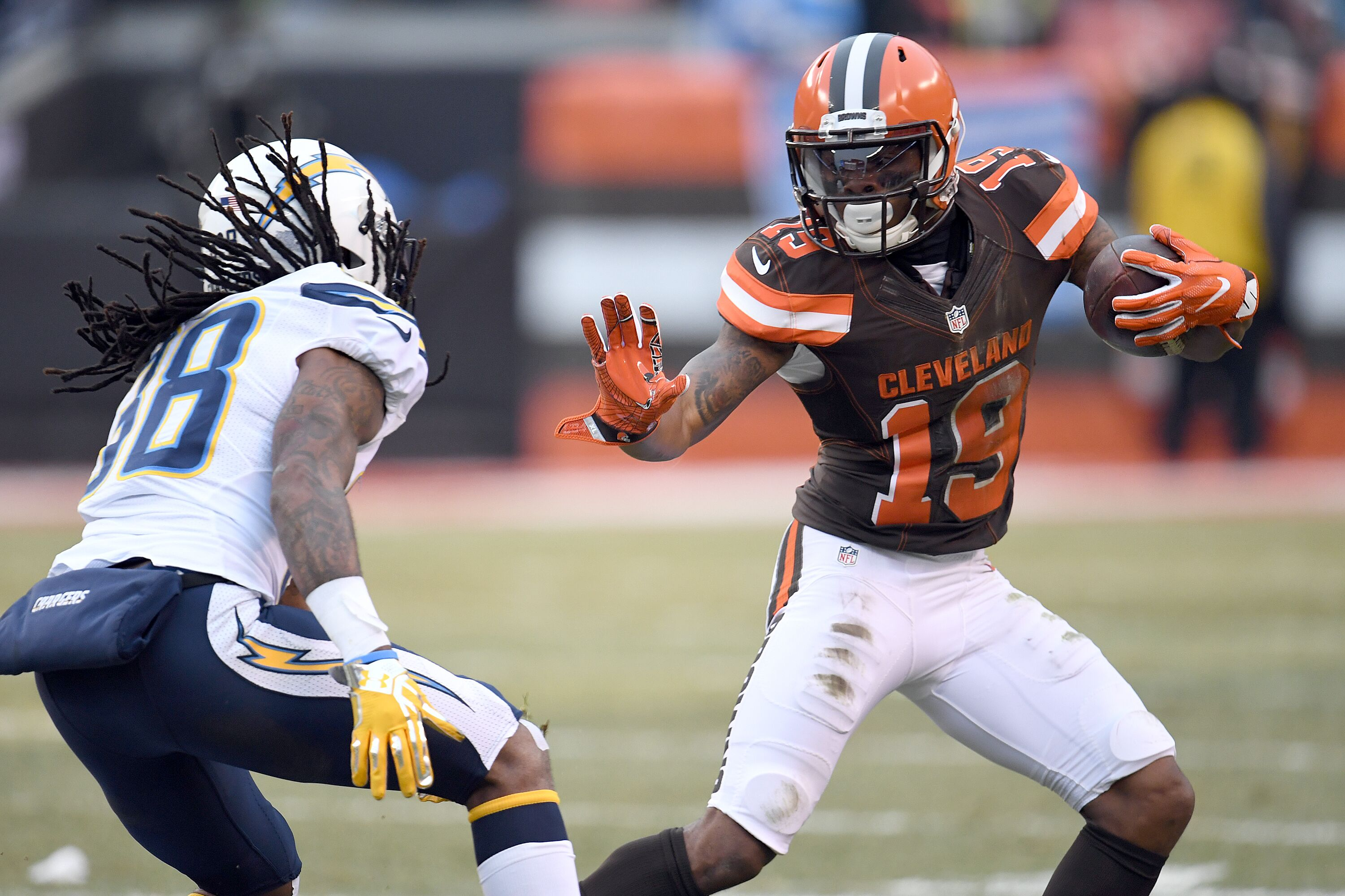 Cleveland Browns Corey Coleman The Lone Hope From The