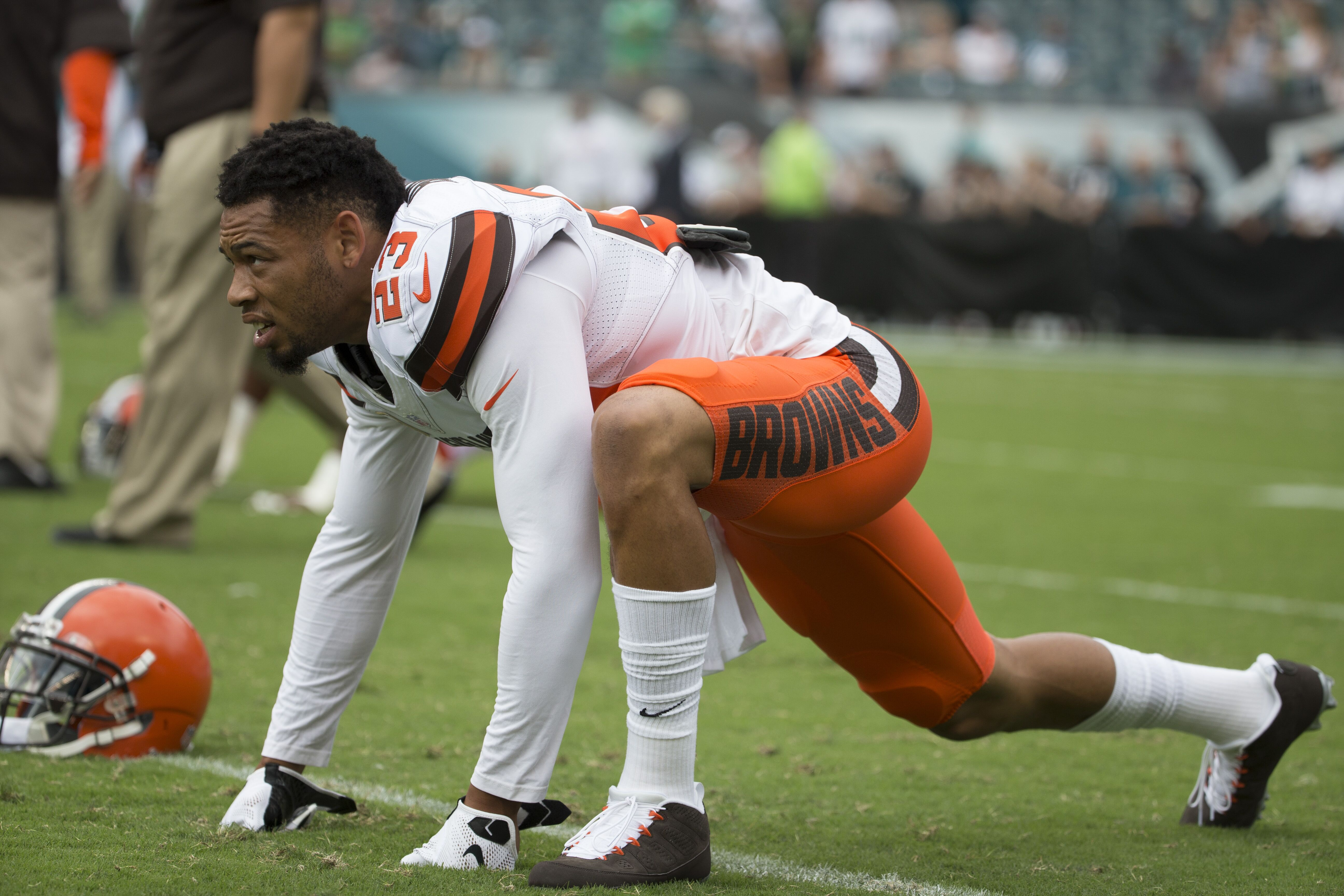 Cleveland Brown Former cornerback Joe Haden signs with Pittsburgh
