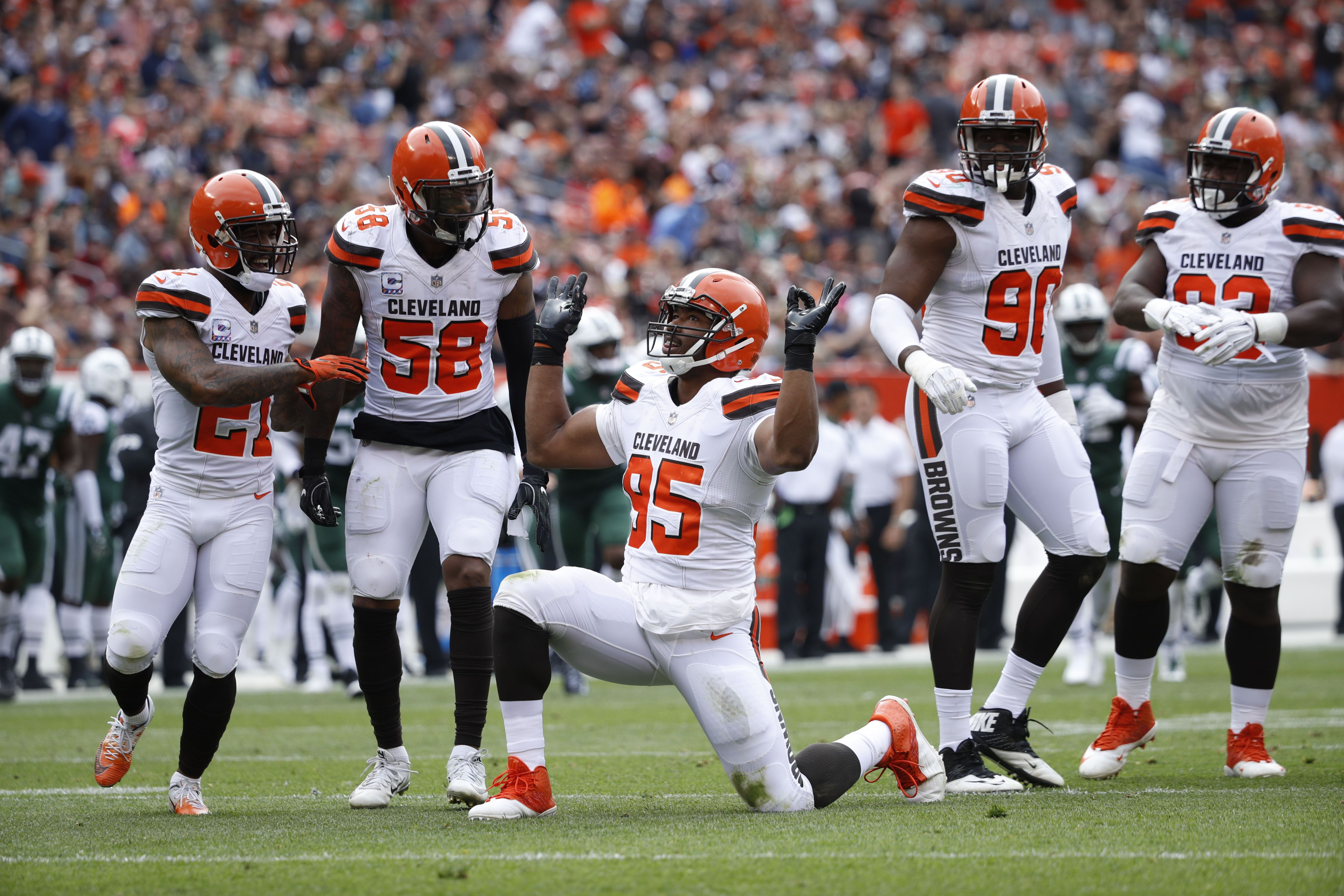 Cleveland Browns rush defense shows up