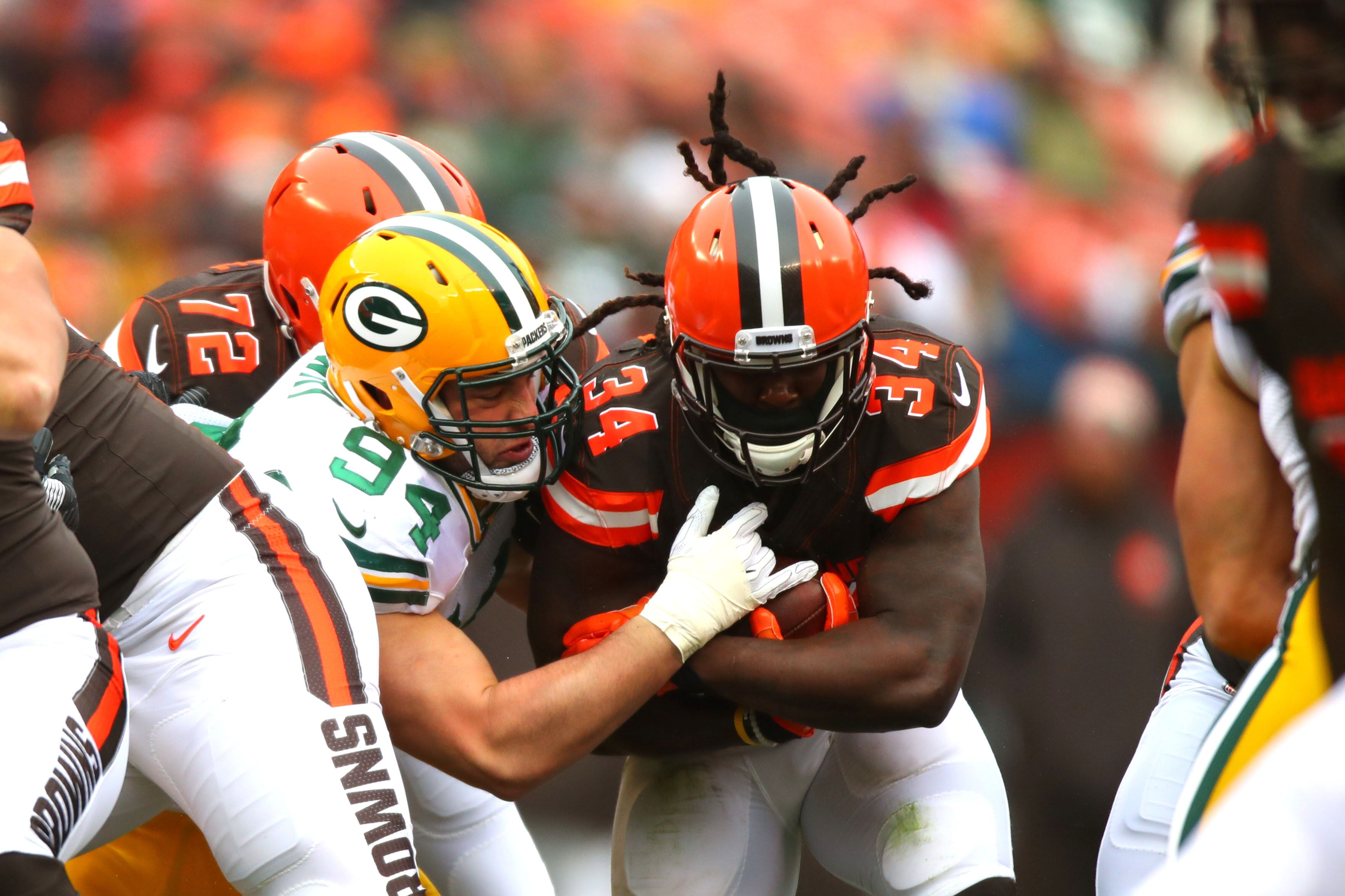 buy online 4862e e1077 Browns: Losing Isaiah Crowell was addition by subtraction