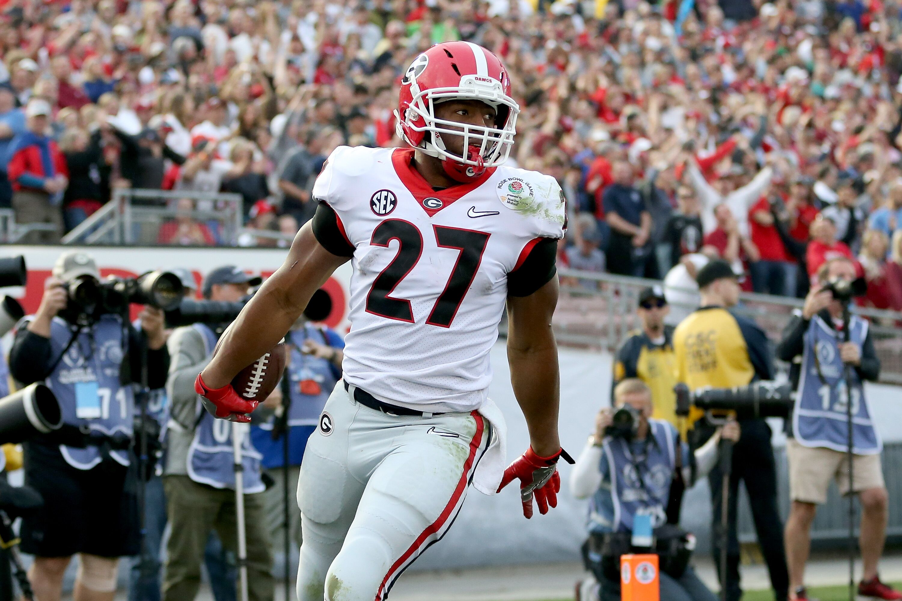 c28ced22d Cleveland Browns  Why Colin Cowherd is right about Nick Chubb - Page 2