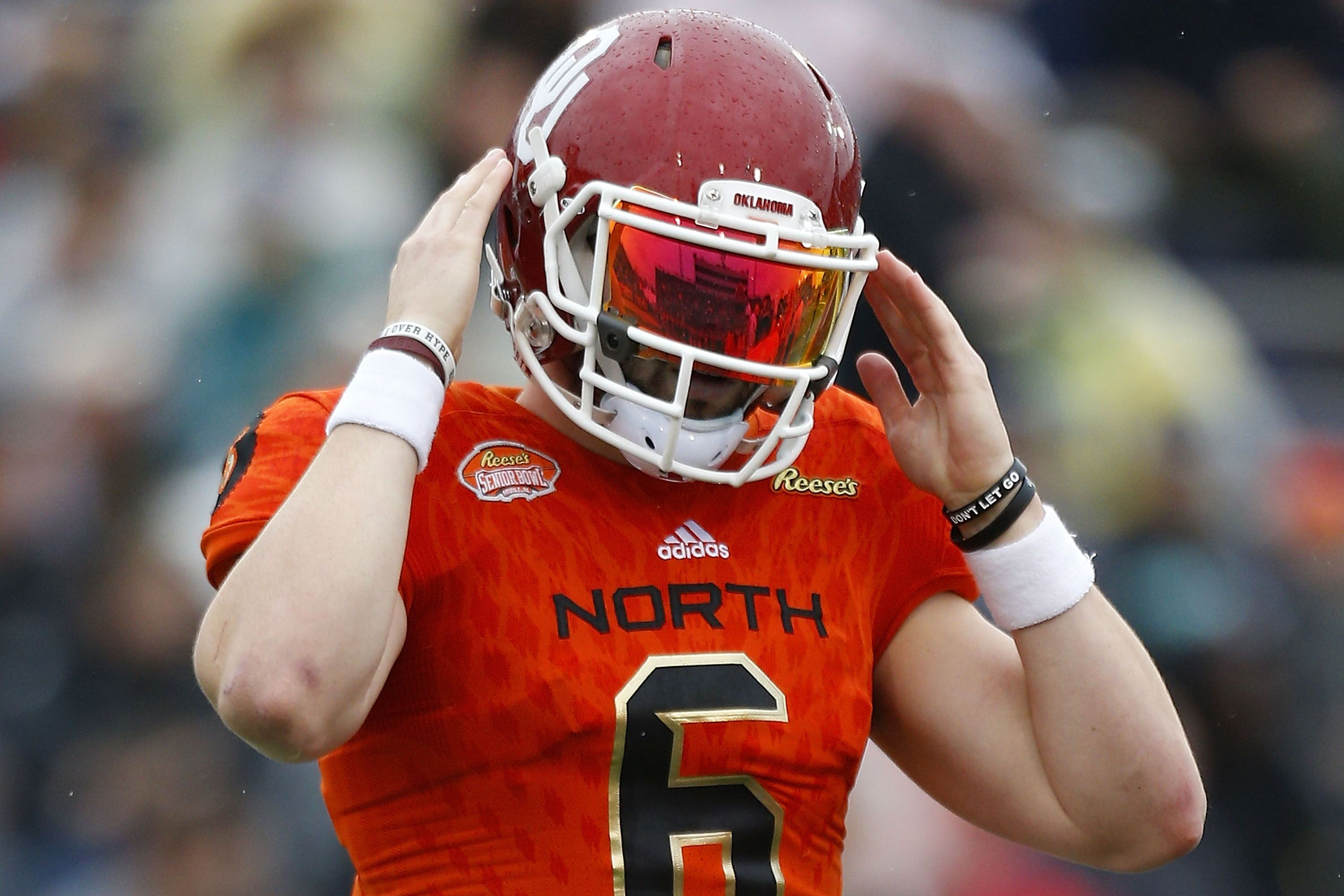 newest 3014b 907e2 Cleveland Browns Baker Mayfield: a call that (never) happened.