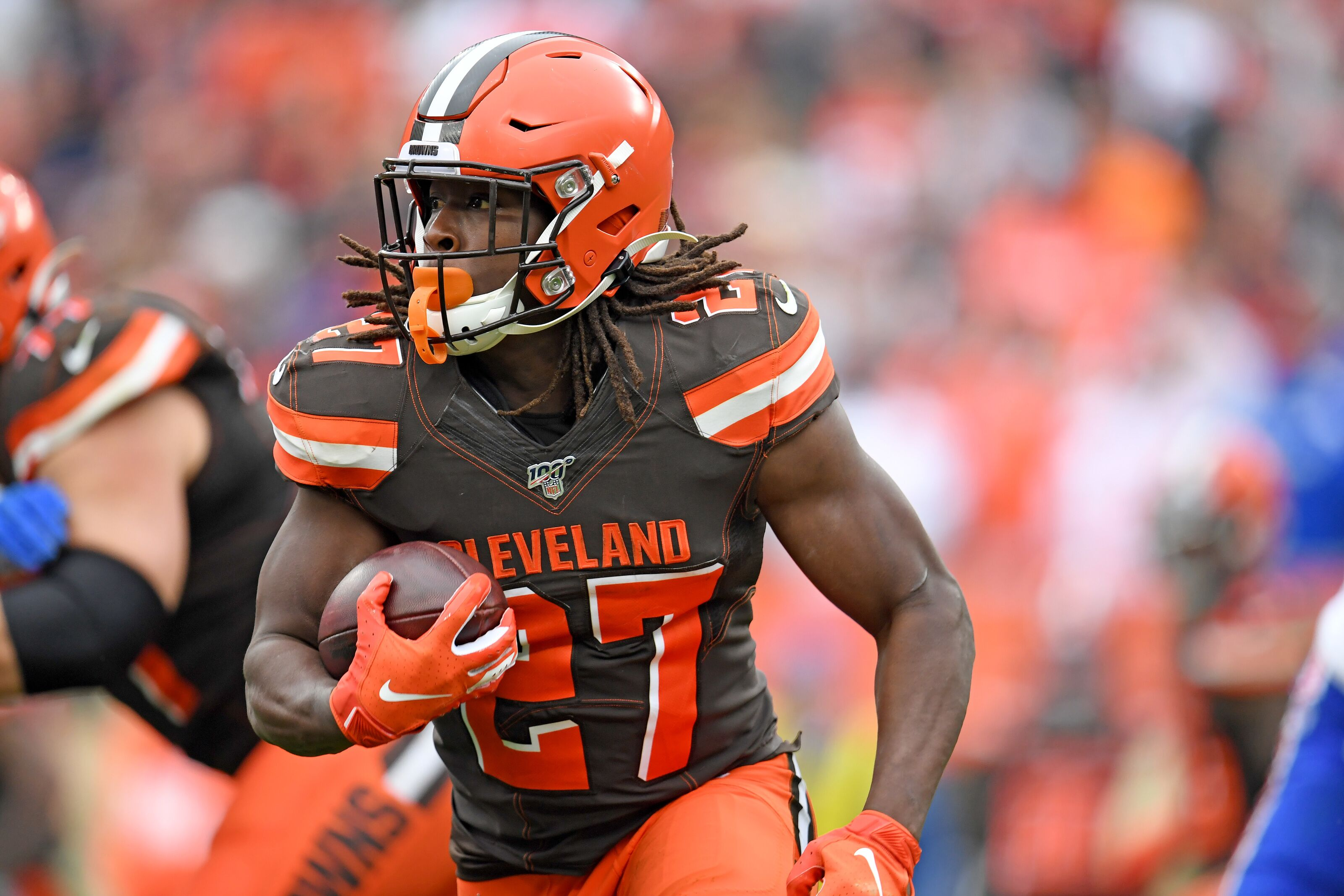 Cleveland Browns long term plan for Kareem Hunt?
