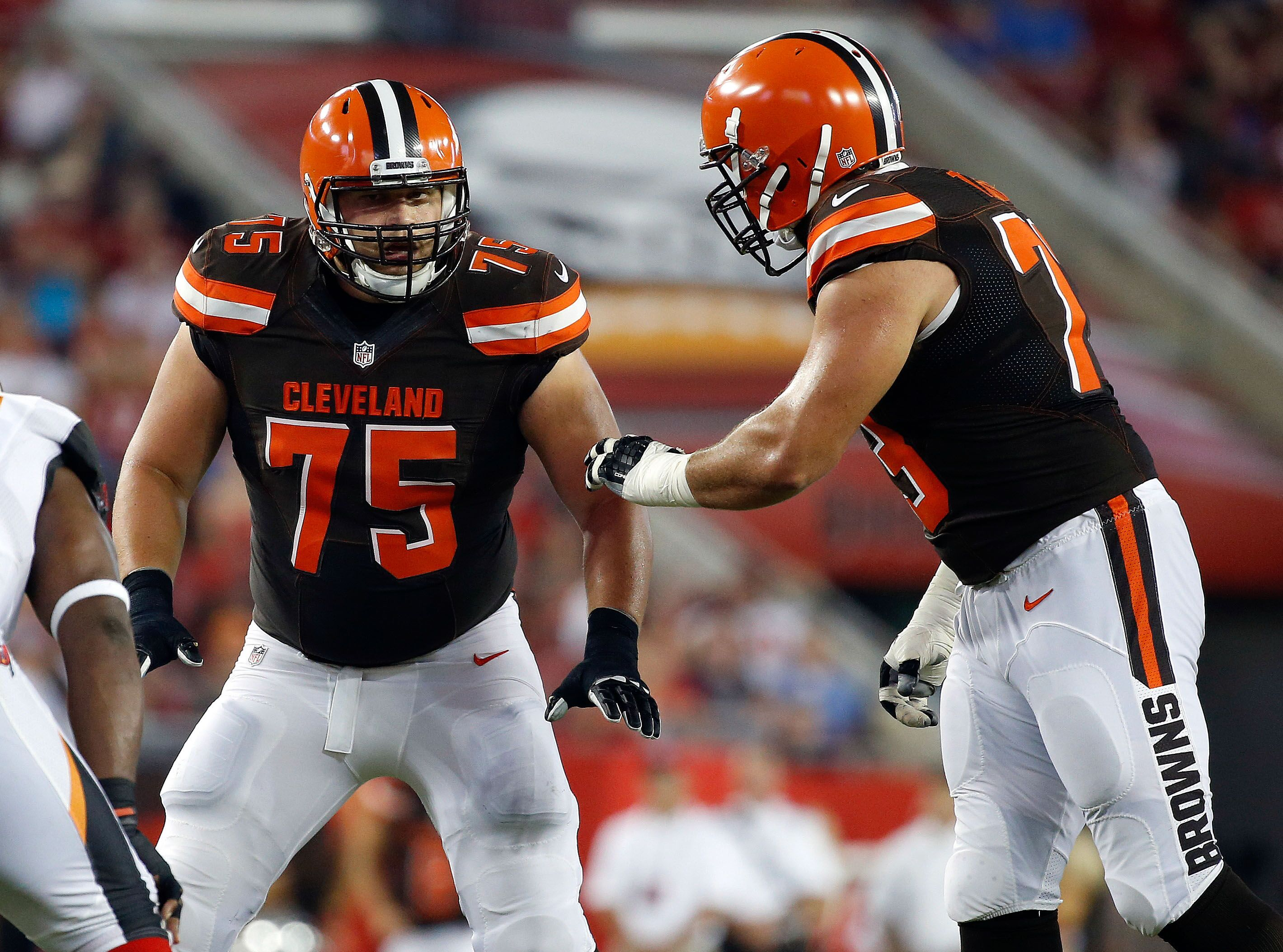 Do the Cleveland Browns truly have the best guards in the NFL