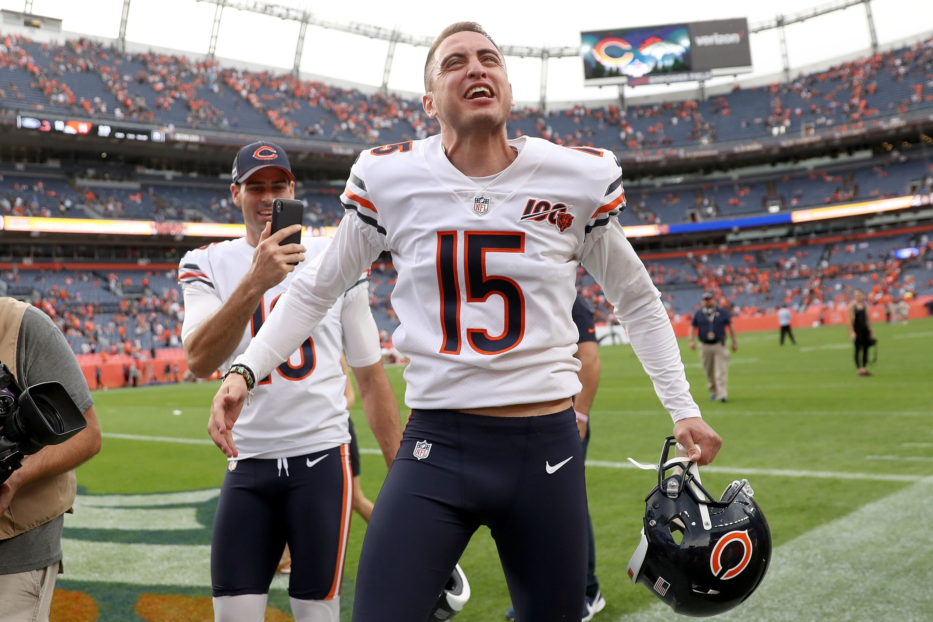 Chicago Bears: Blatant jab at Eddy Pineiro completely uncalled for