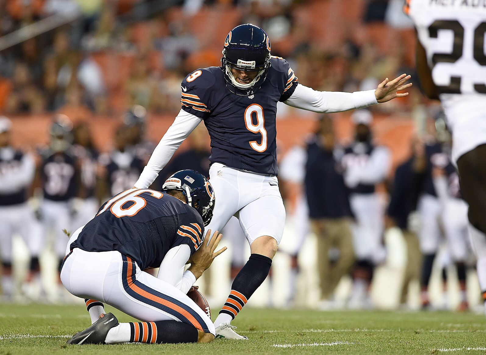 newest d8479 65d38 Chicago Bears: 3 signs Robbie Gould could return home