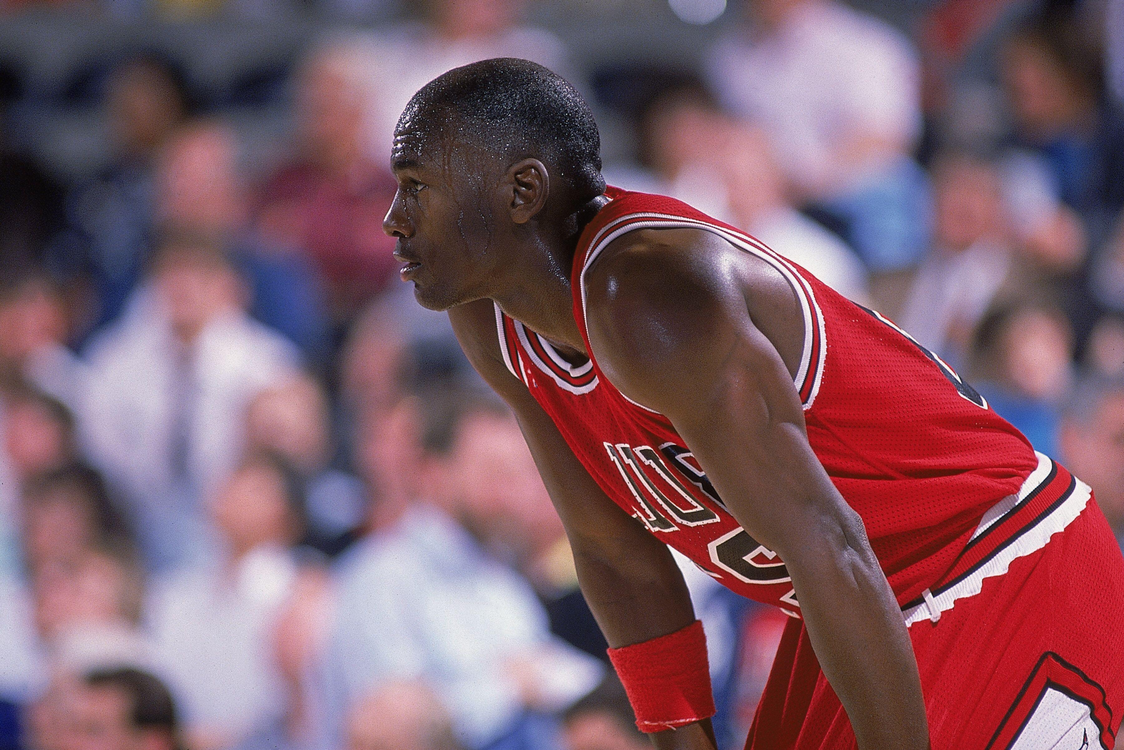 the latest 00a9c fe5e0 Ranking Michael Jordan s 5 best game-winning shots on his 55th birthday