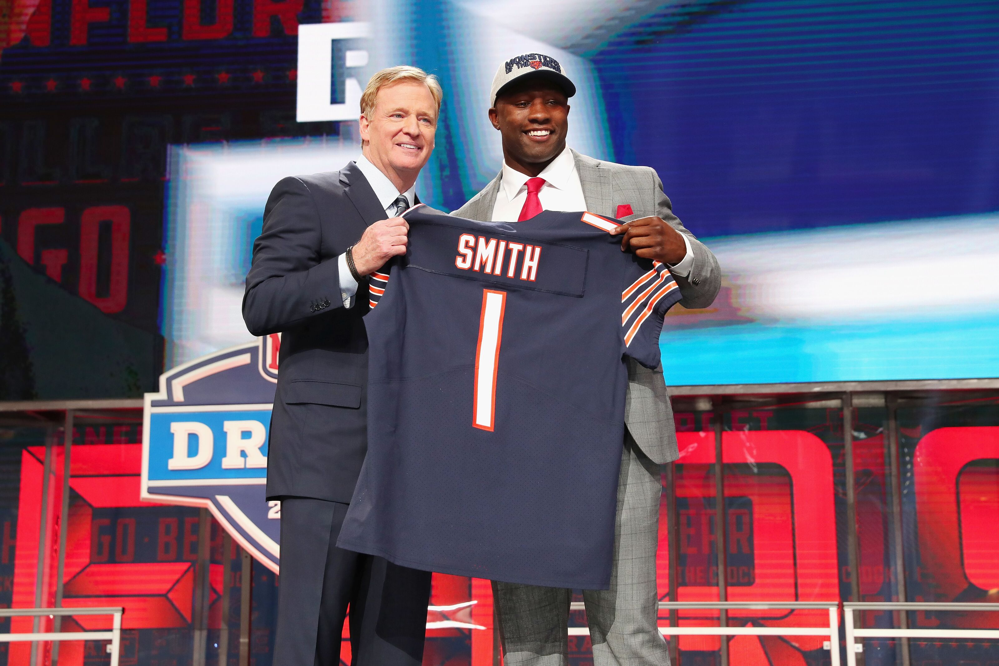 Chicago Bears  Recapping the first day of rookie minicamp c9597831a