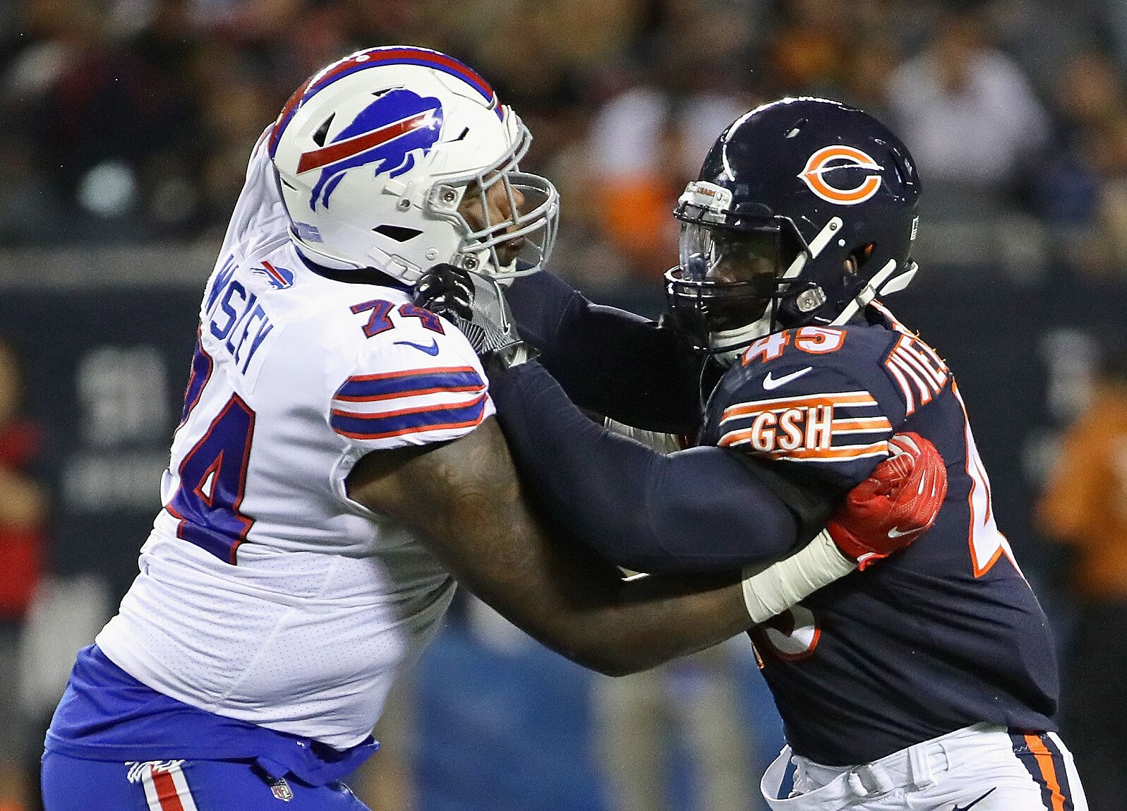 the latest 6ecbc e3127 Chicago Bears: 5 matchups to watch against Tennessee Titans ...