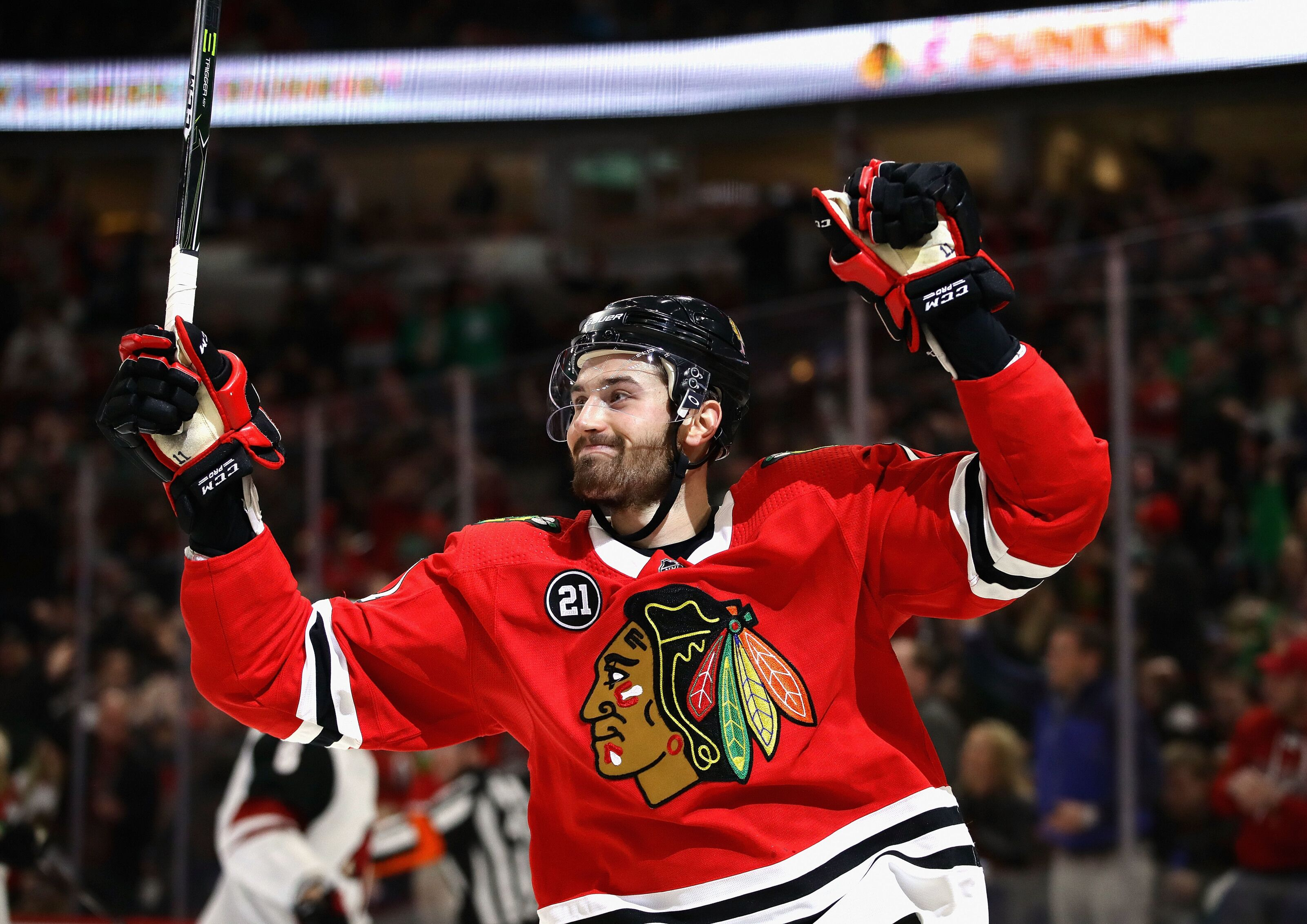 The Chicago Blackhawks should sign Perlini to an extension