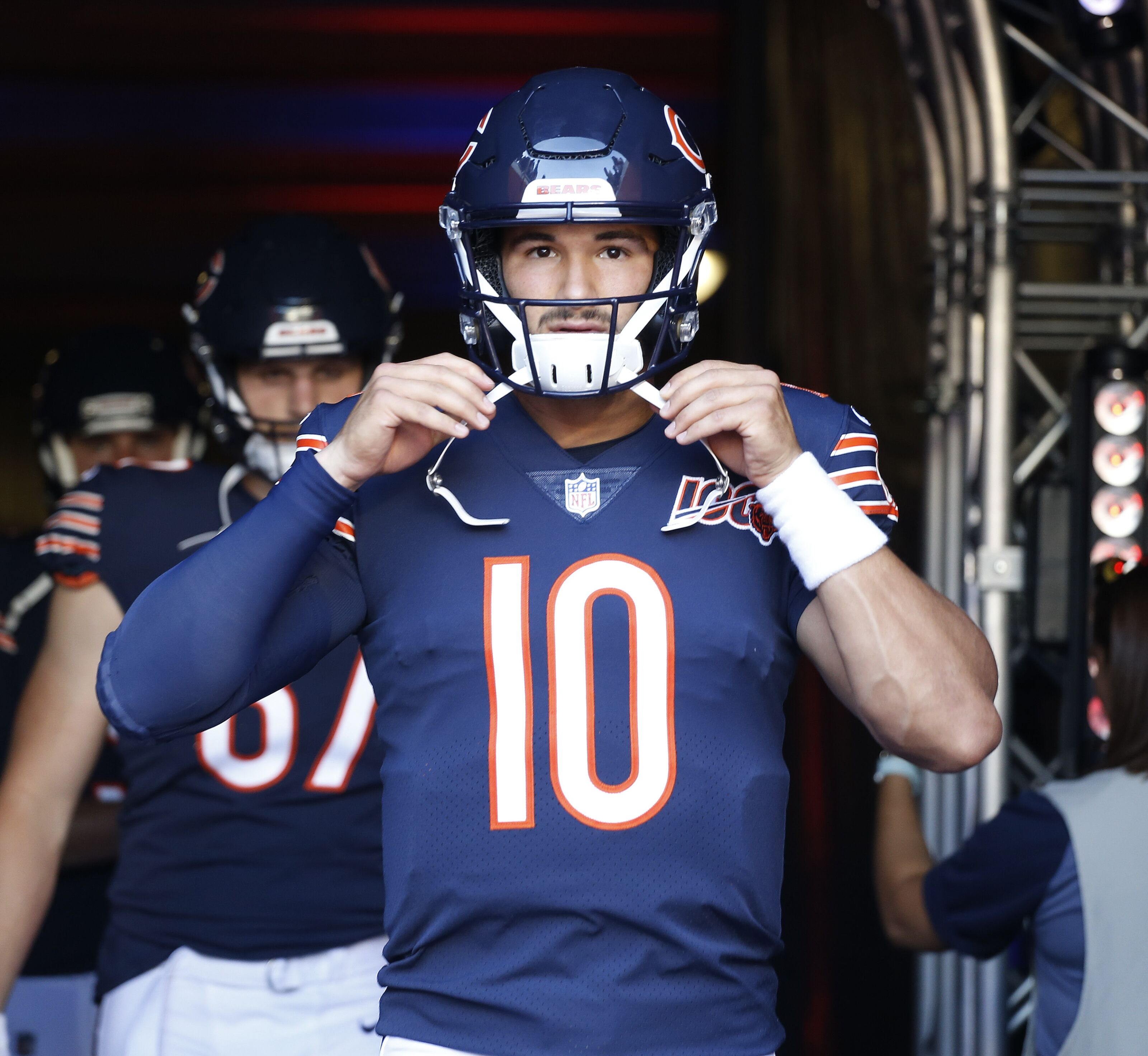 size 40 c8543 d7e5d Chicago Bears: Is Mitch Trubisky following path of Alex Smith?
