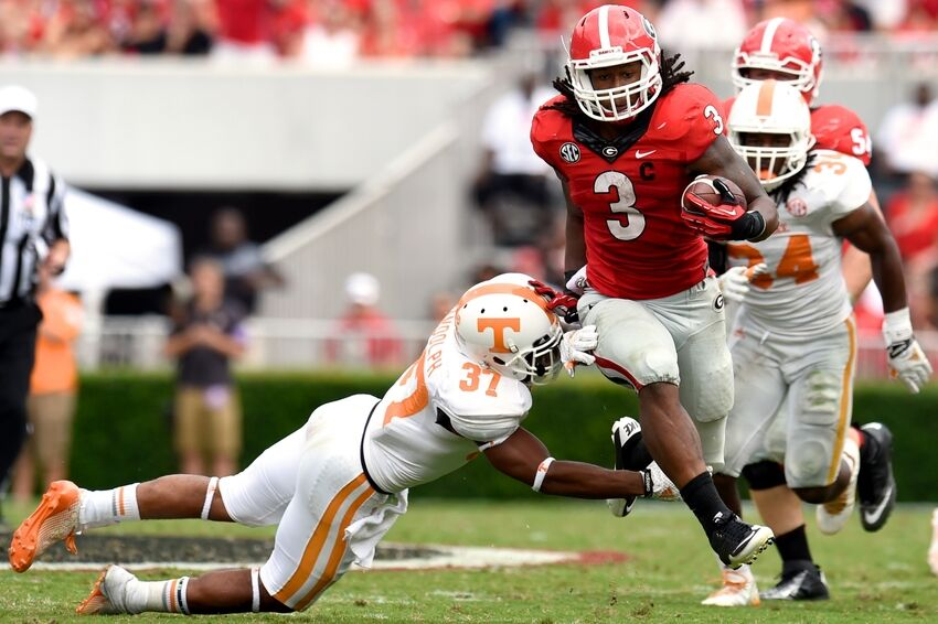 Georgia RB Todd Gurley named Athlon Sports National Player ...