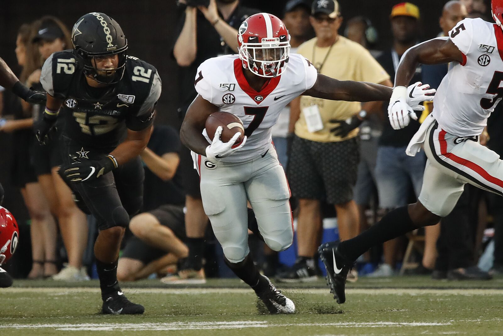 Georgia Football: D'Andre Swift stamps name in Heisman race