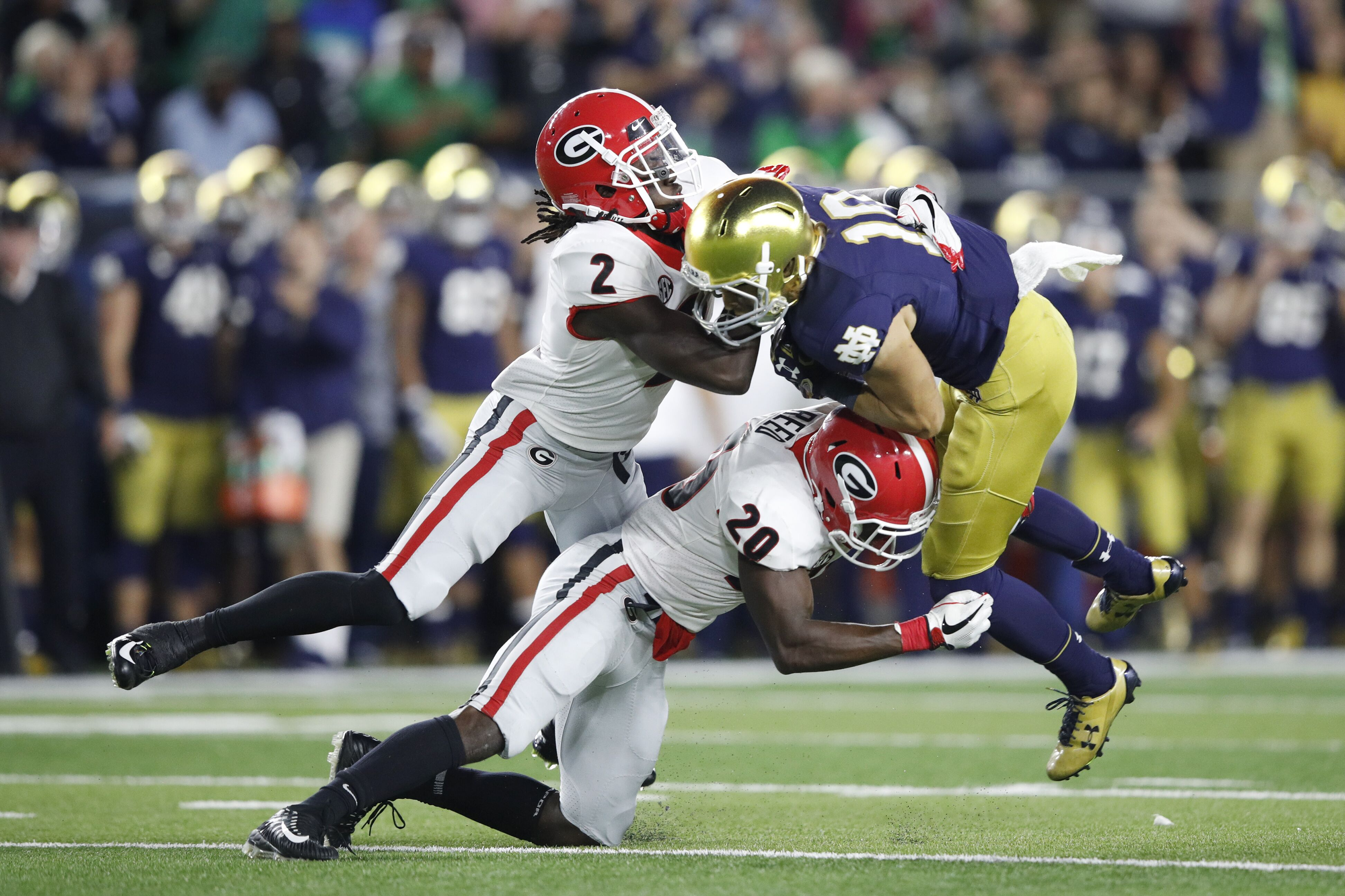 3 things Georgia football's defense must do against Notre Dame