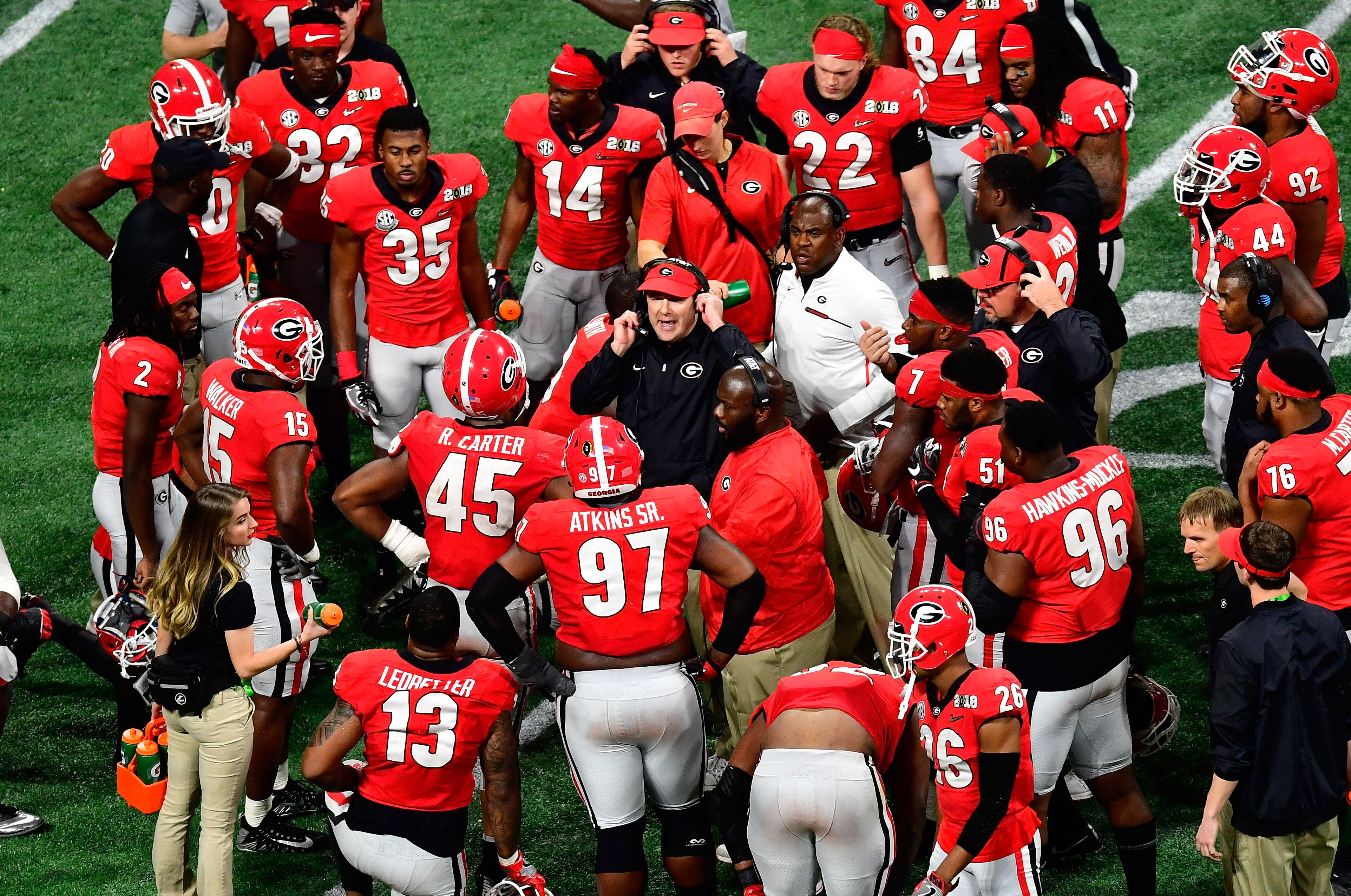 Georgia football now has four no. 1 players with rankings shift