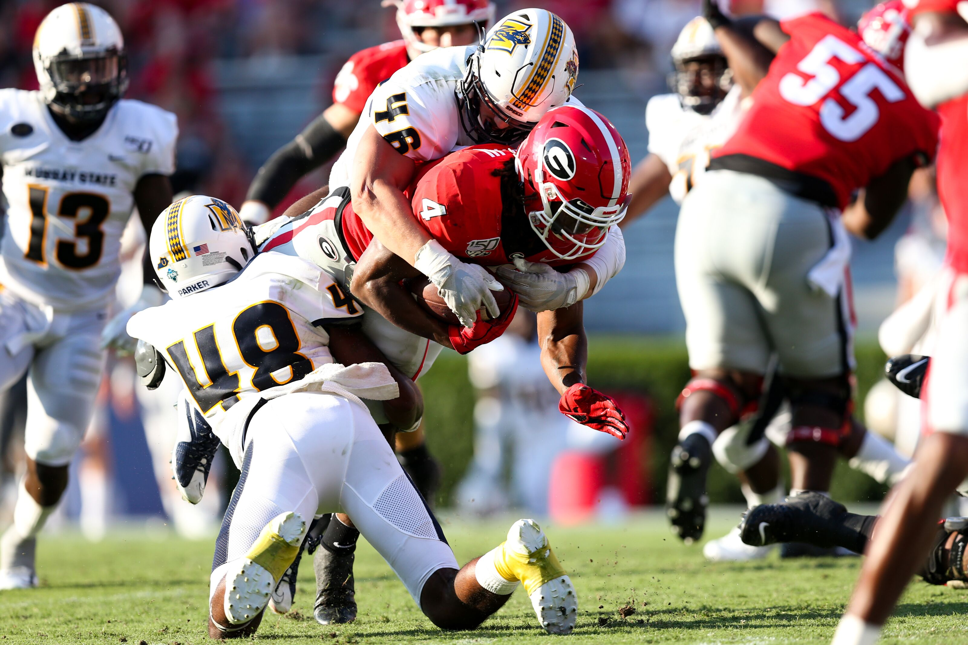 Georgia football's good and bad takeaways from Murray State