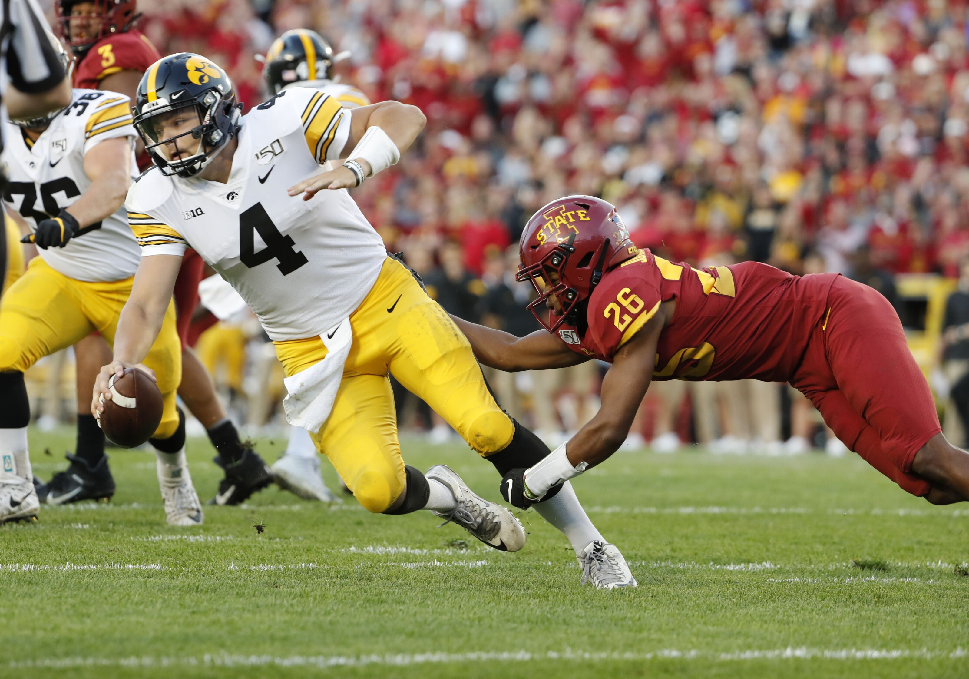 Iowa football: Nate Stanley is our quarterback, and that's a good thing