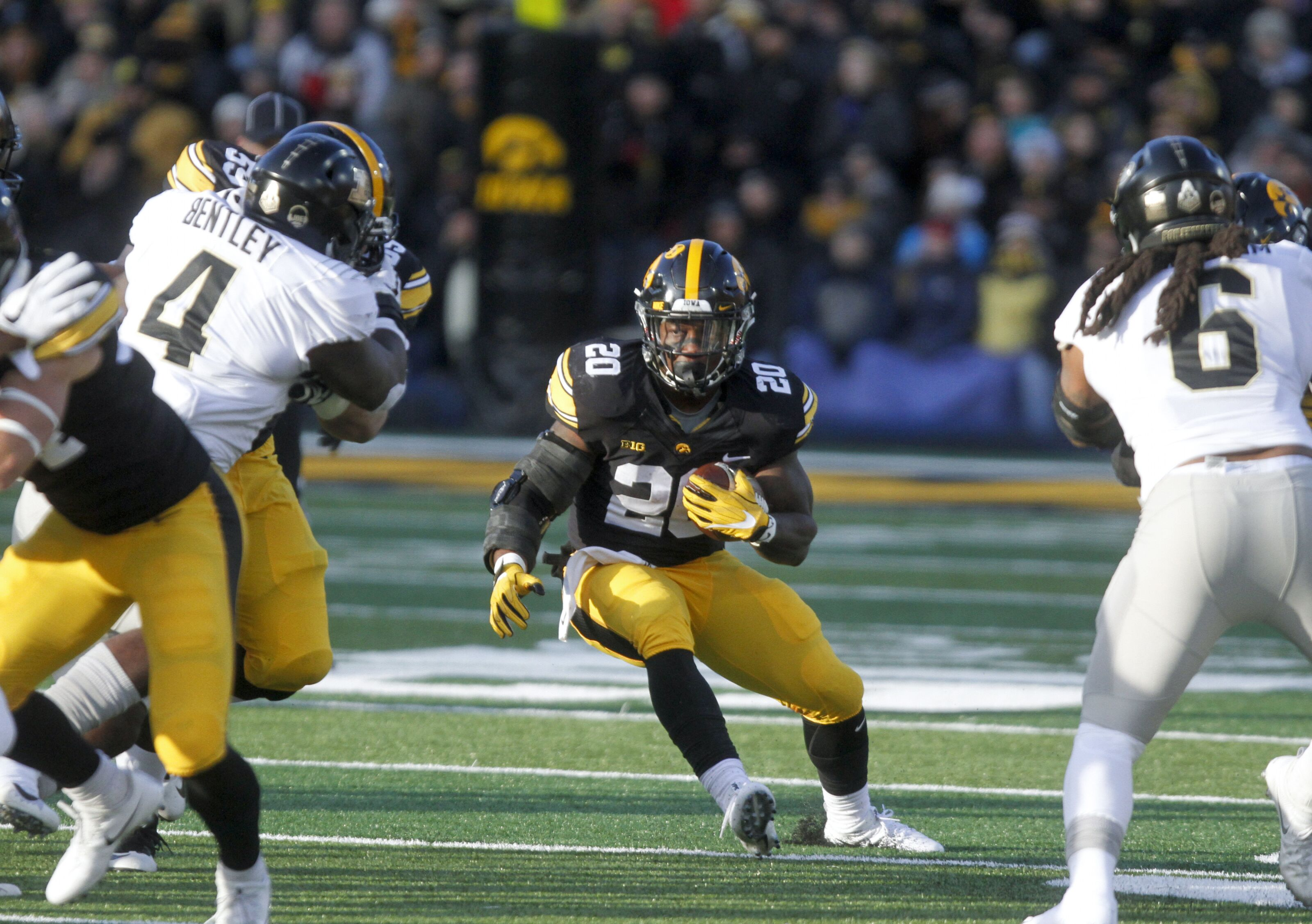 Iowa football: James Butler making most of opportunity with Raiders