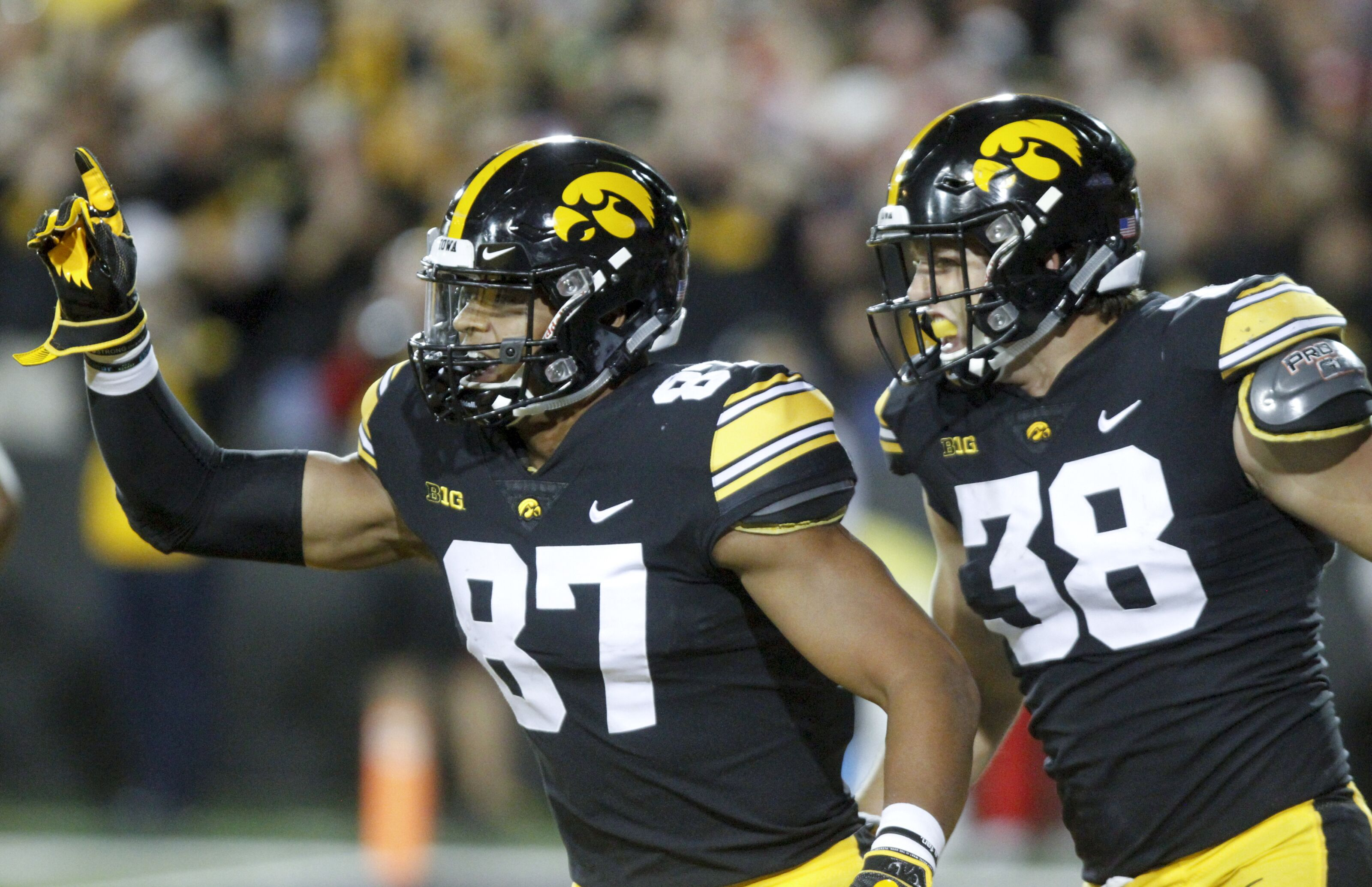 The Iowa Football Team Could Lose Not One But Two All American Ends At The Conclusion Of This Season Here Are Three Guys Who Could Replace Them