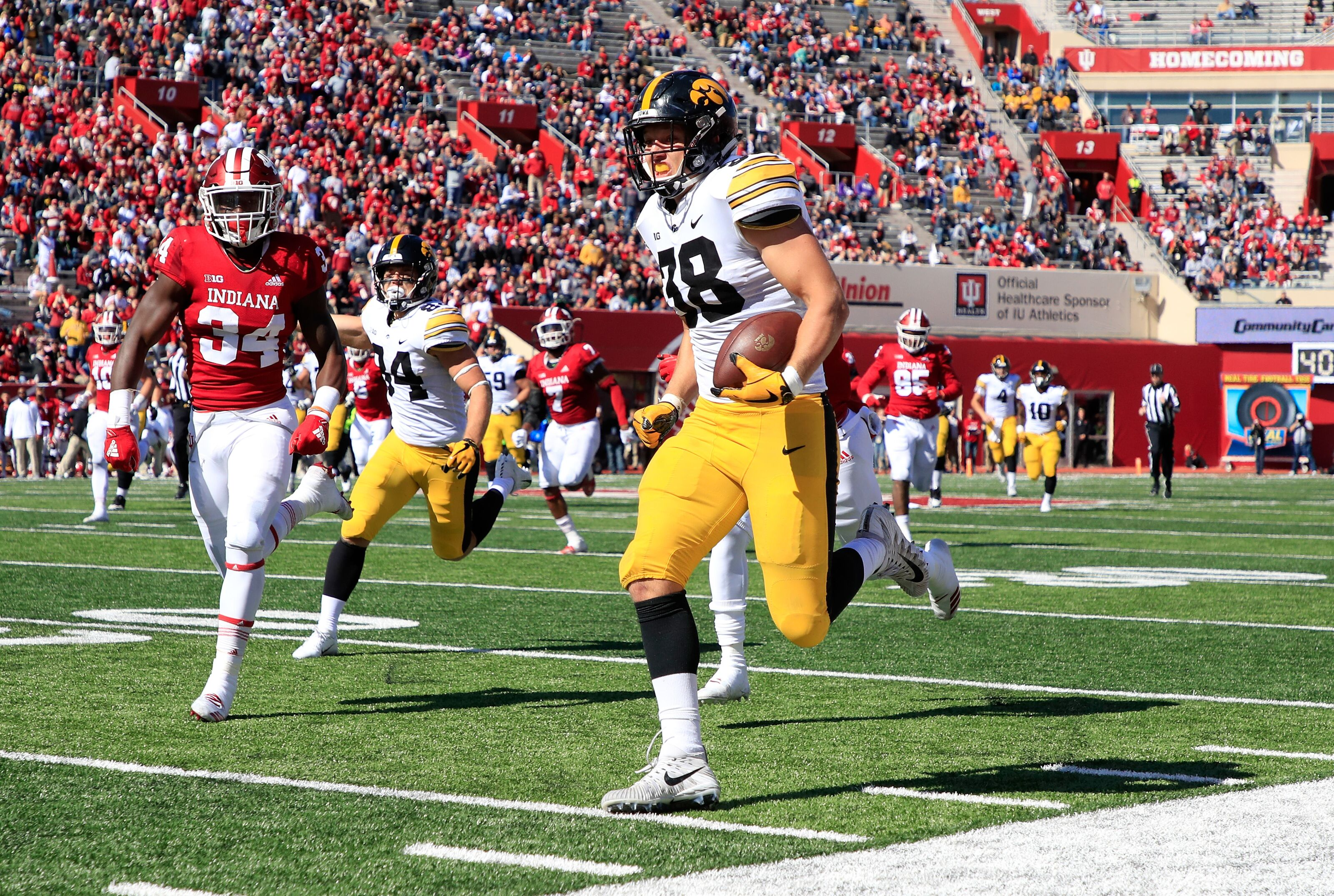 Iowa Football Three Hawkeyes Collect Game Balls In Win Over Indiana