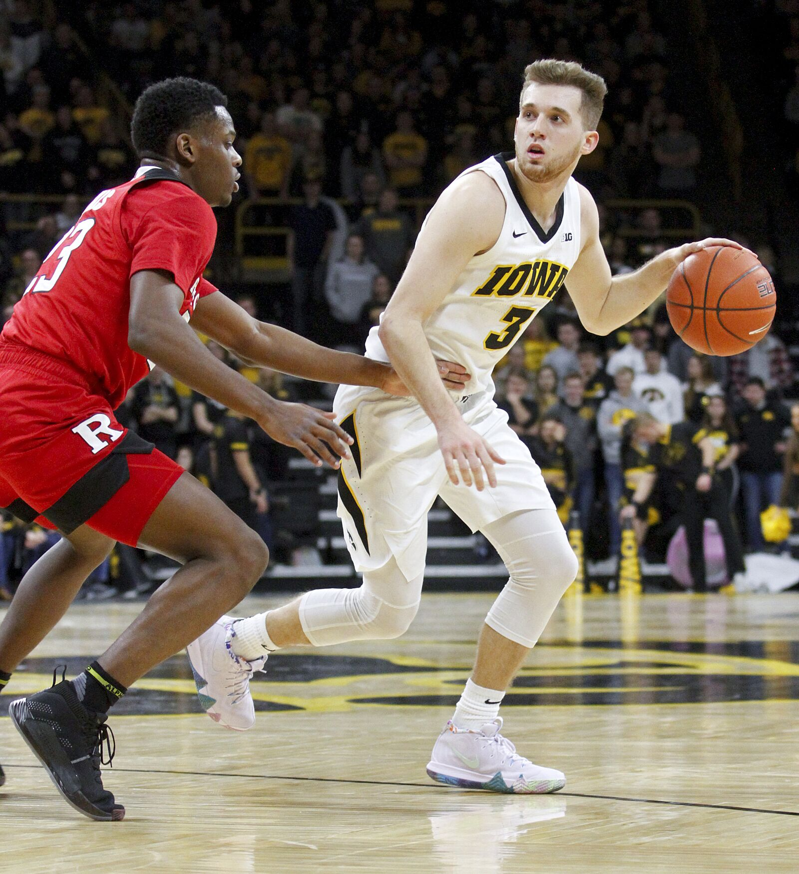 292bd5971 Iowa basketball  Three takeaways in senior night loss to Rutgers