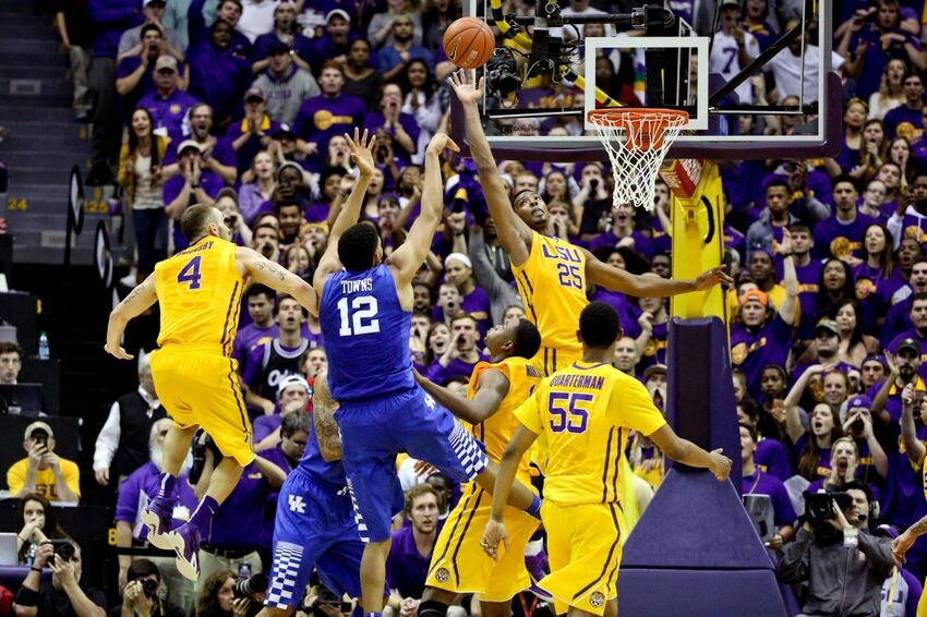 How To Watch Kentucky Wildcats Basketball Vs Lsu Tigers: LSU Basketball: Cats' Rally In Final Minutes To Beat