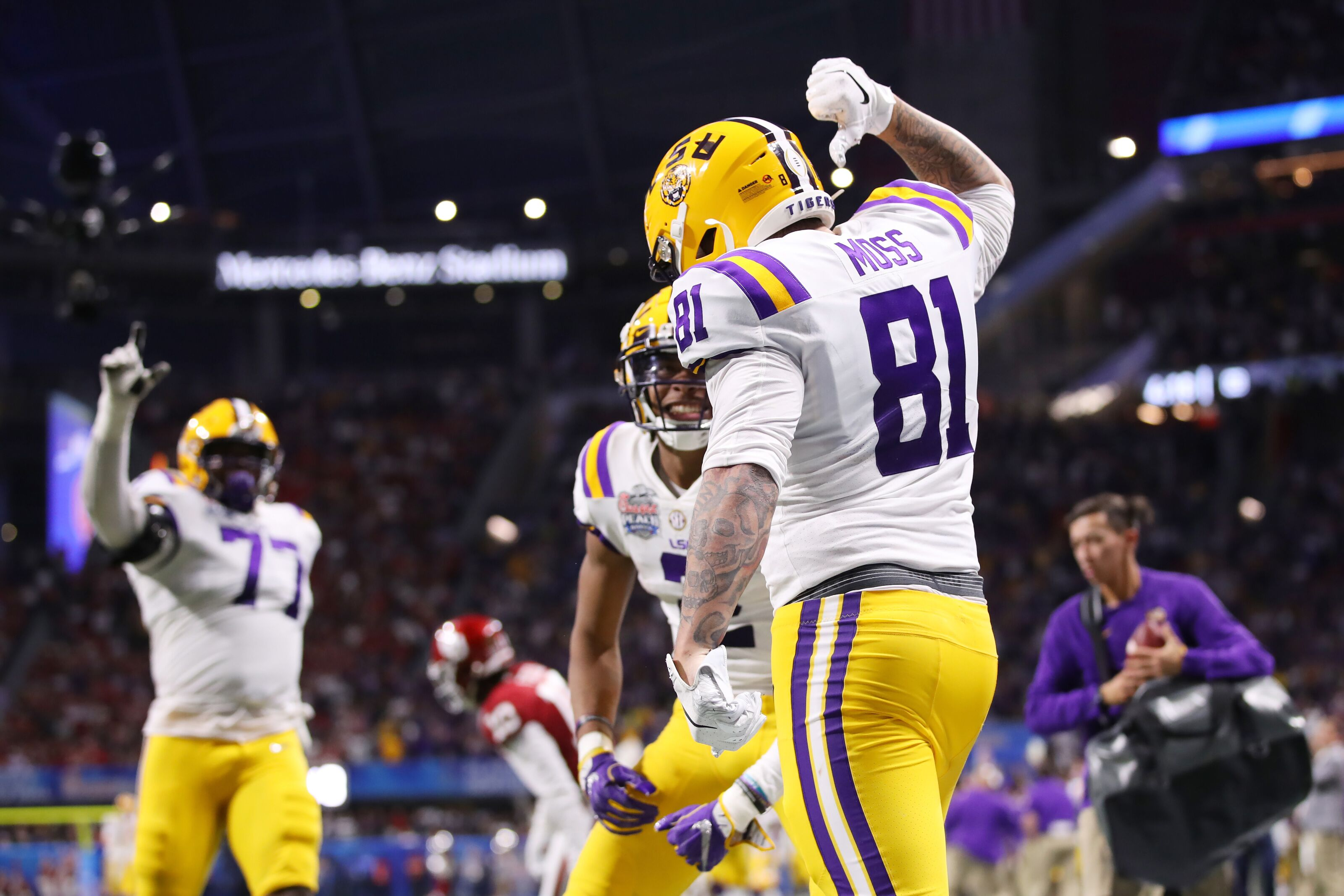 LSU Football: Thaddeus Moss going to NFL hurts, but Tigers are in good shape