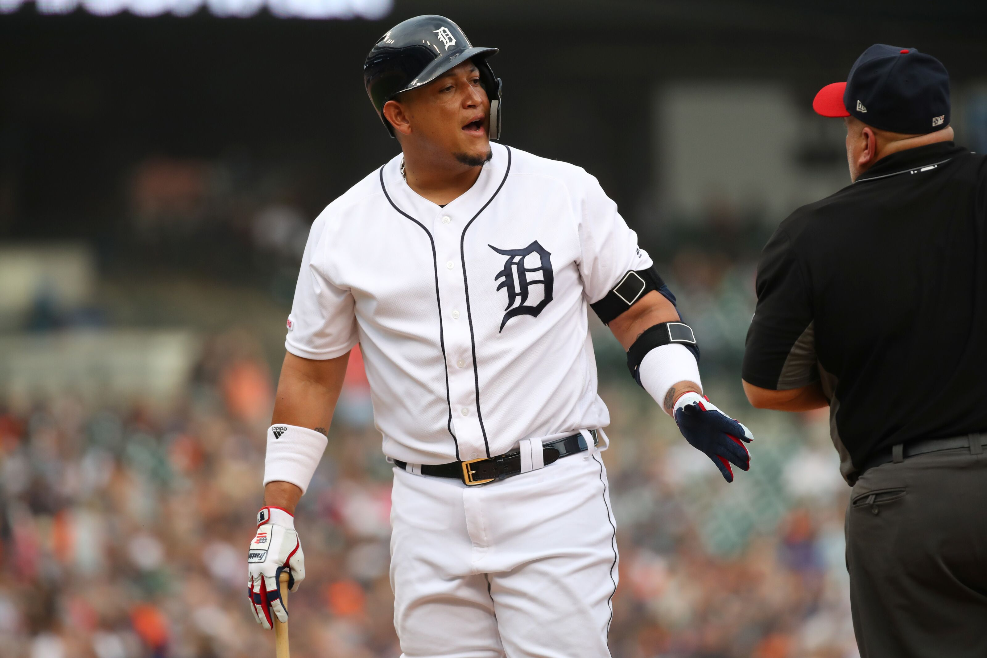 The Detroit Tigers are clearly lacking veteran leadership