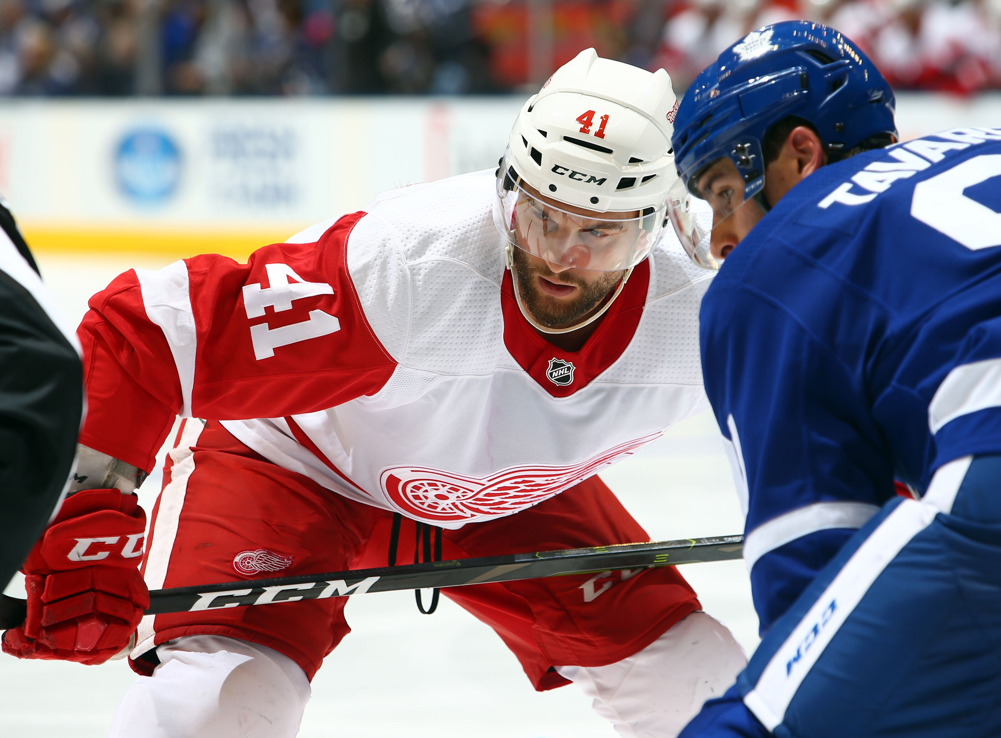 Red Wings: Please remove Luke Glendening from the top line