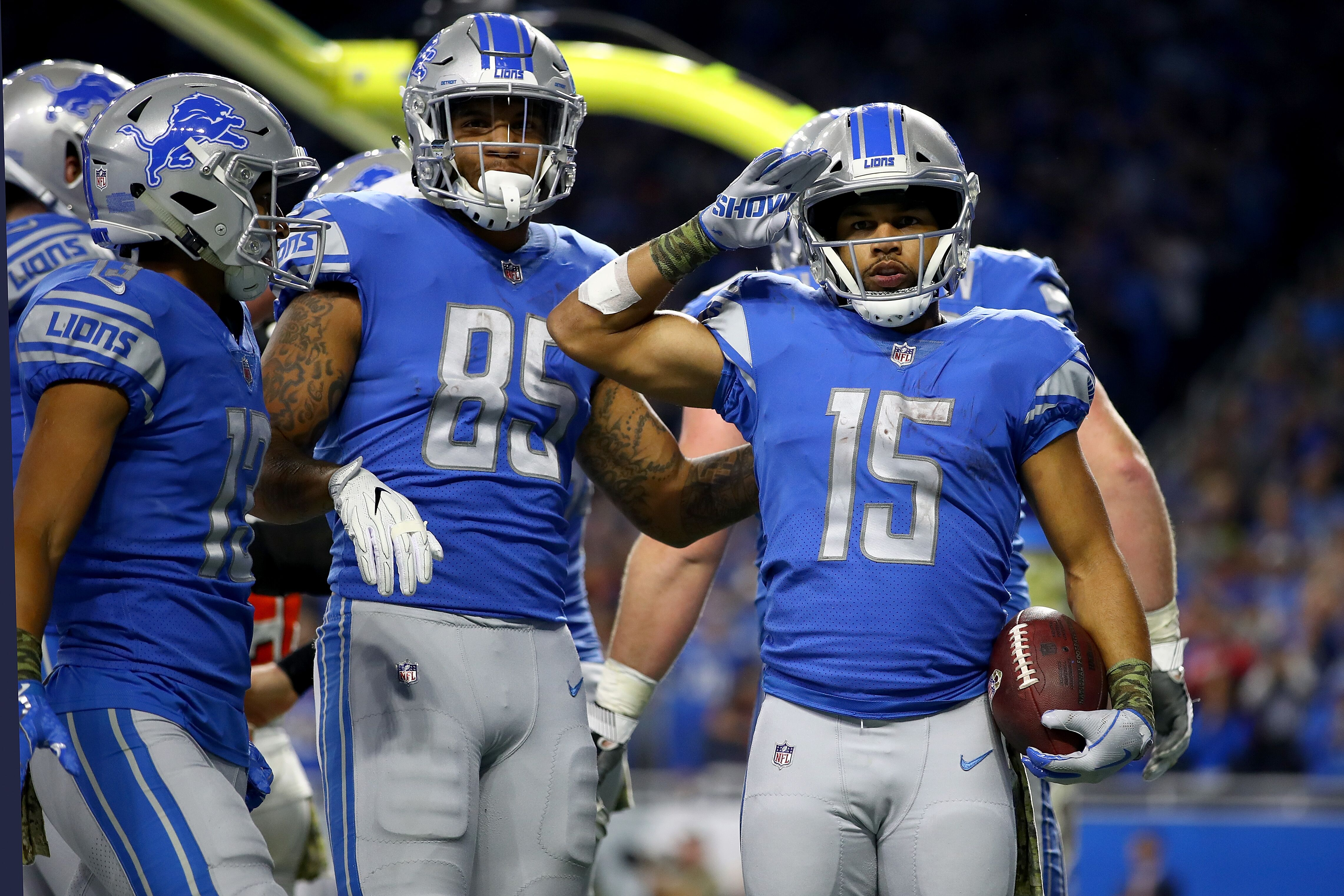 Detroit Lions: Game balls for week 10 win vs. Cleveland Browns