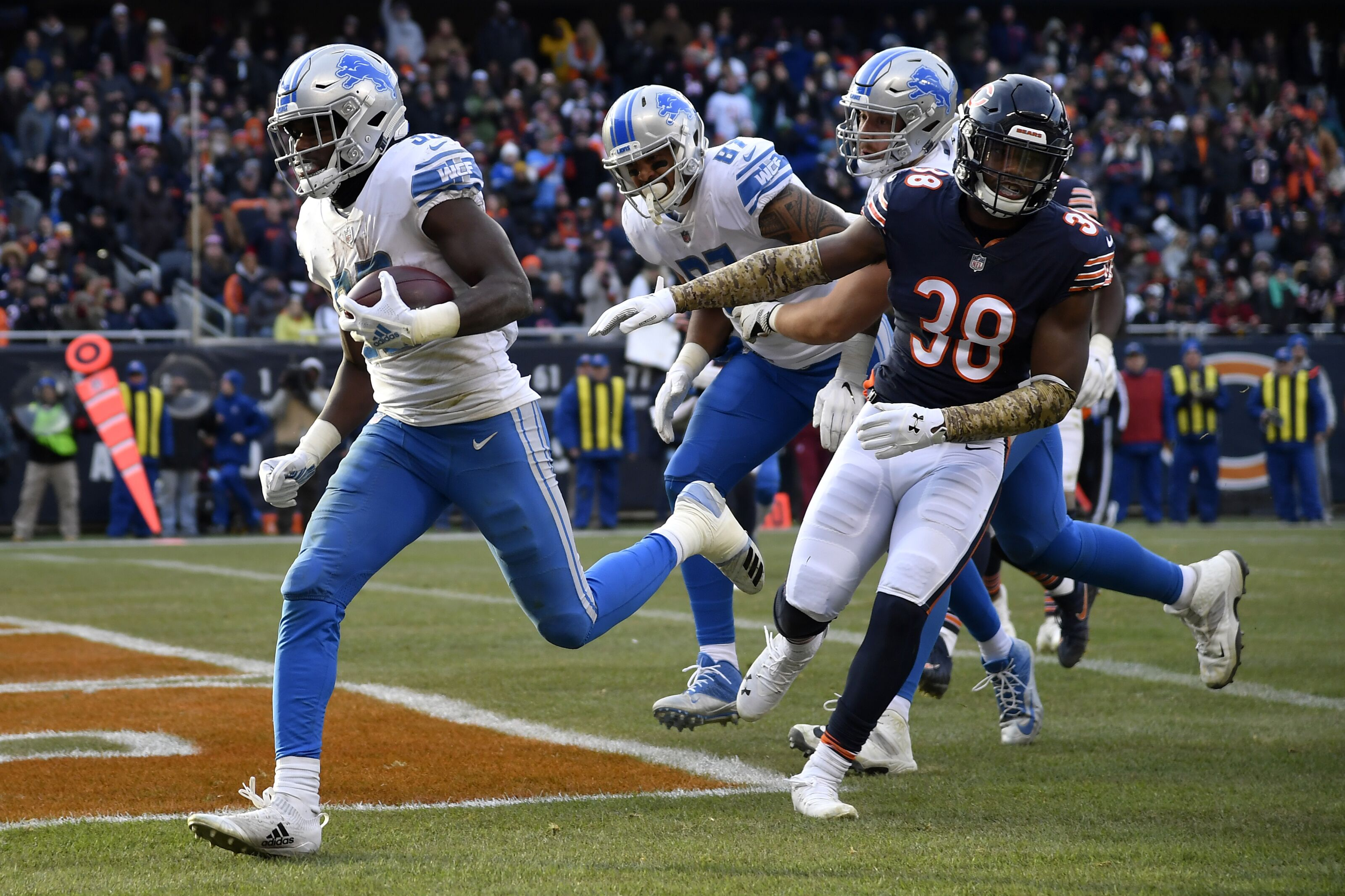 Detroit Lions: Chances of a breakout year for the running game in 2019