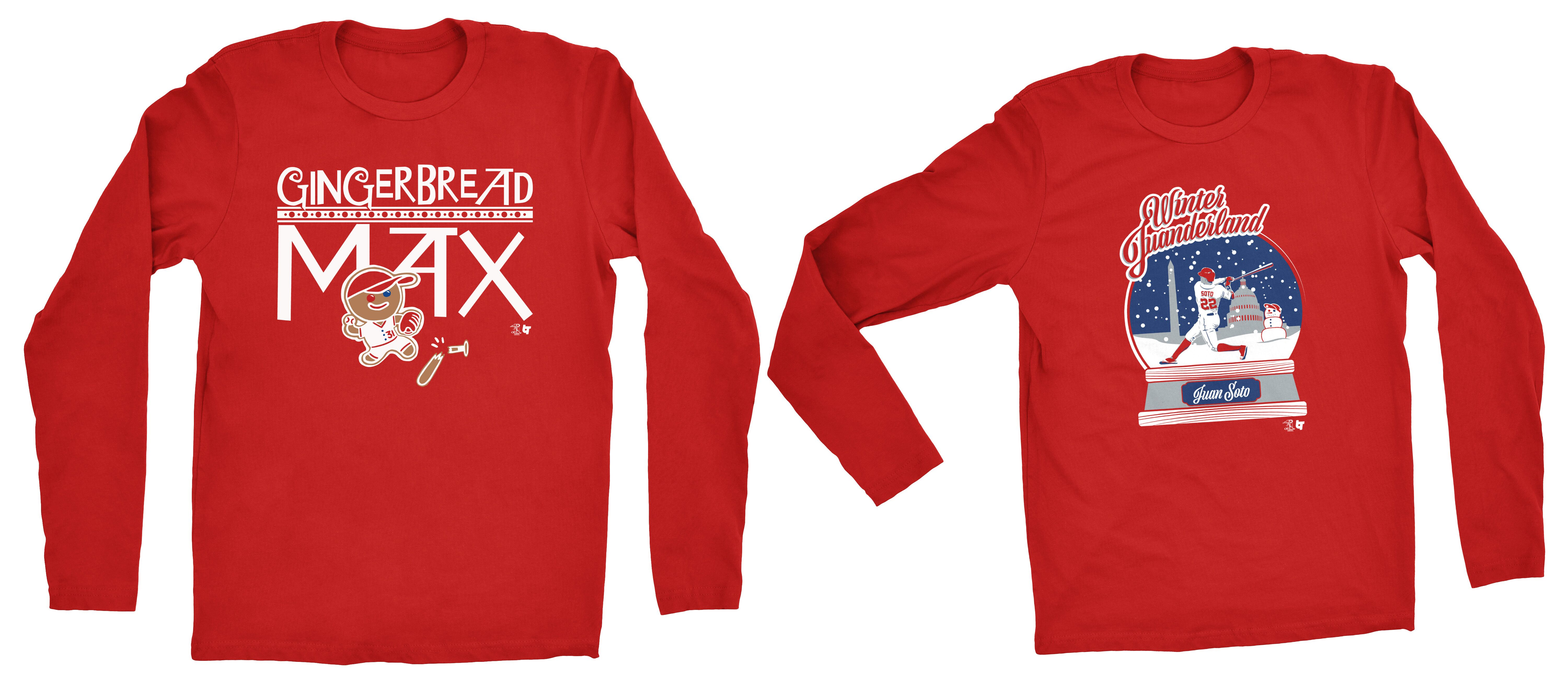You need these Holiday-themed Washington Nationals shirts eeacf92c6