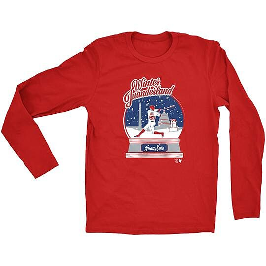 timeless design a86e5 98303 You need these Holiday-themed Washington Nationals shirts