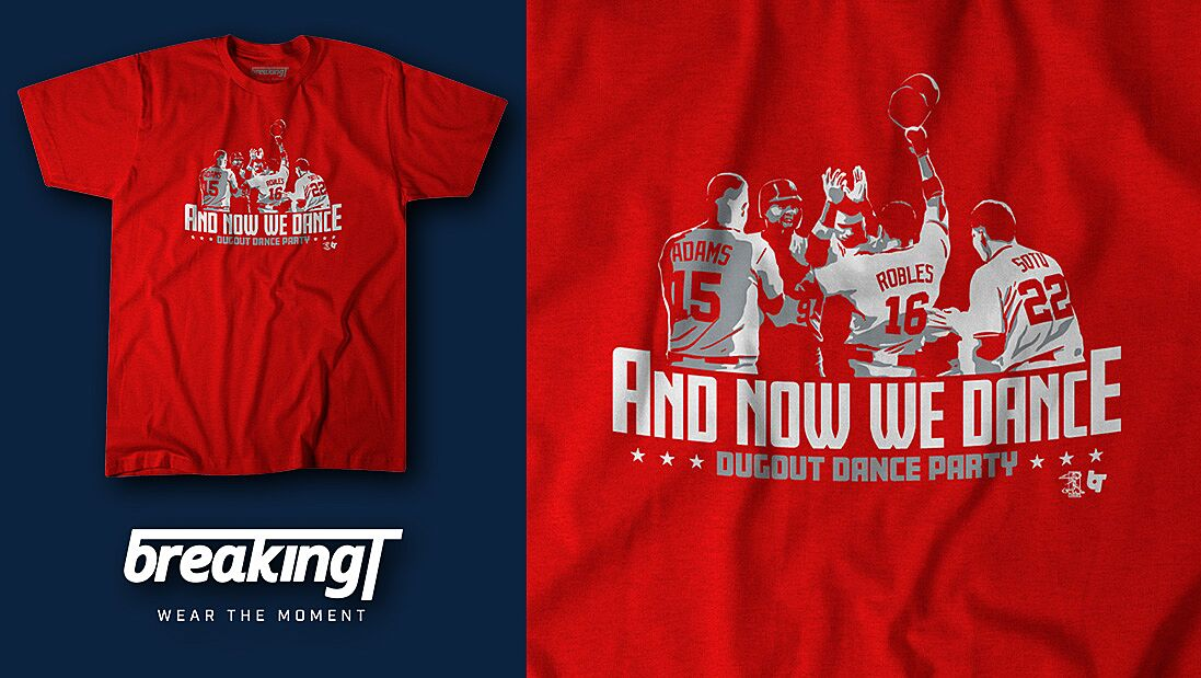 buy popular 13e96 1c1b0 Washington Nationals fans need this shirt