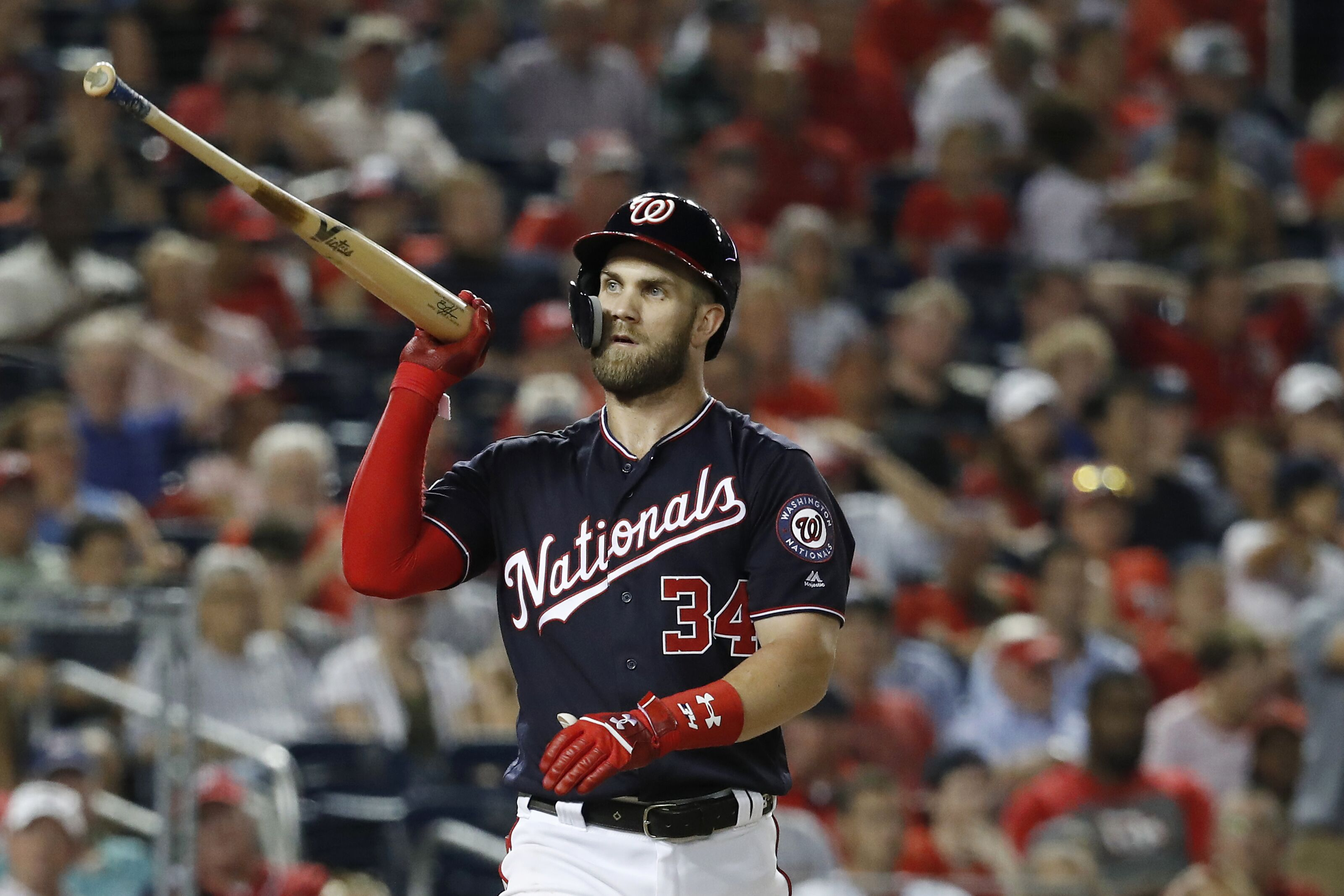 c0a78fb589f90 Washington Nationals  Does Bryce Harper regret rejecting  300 million