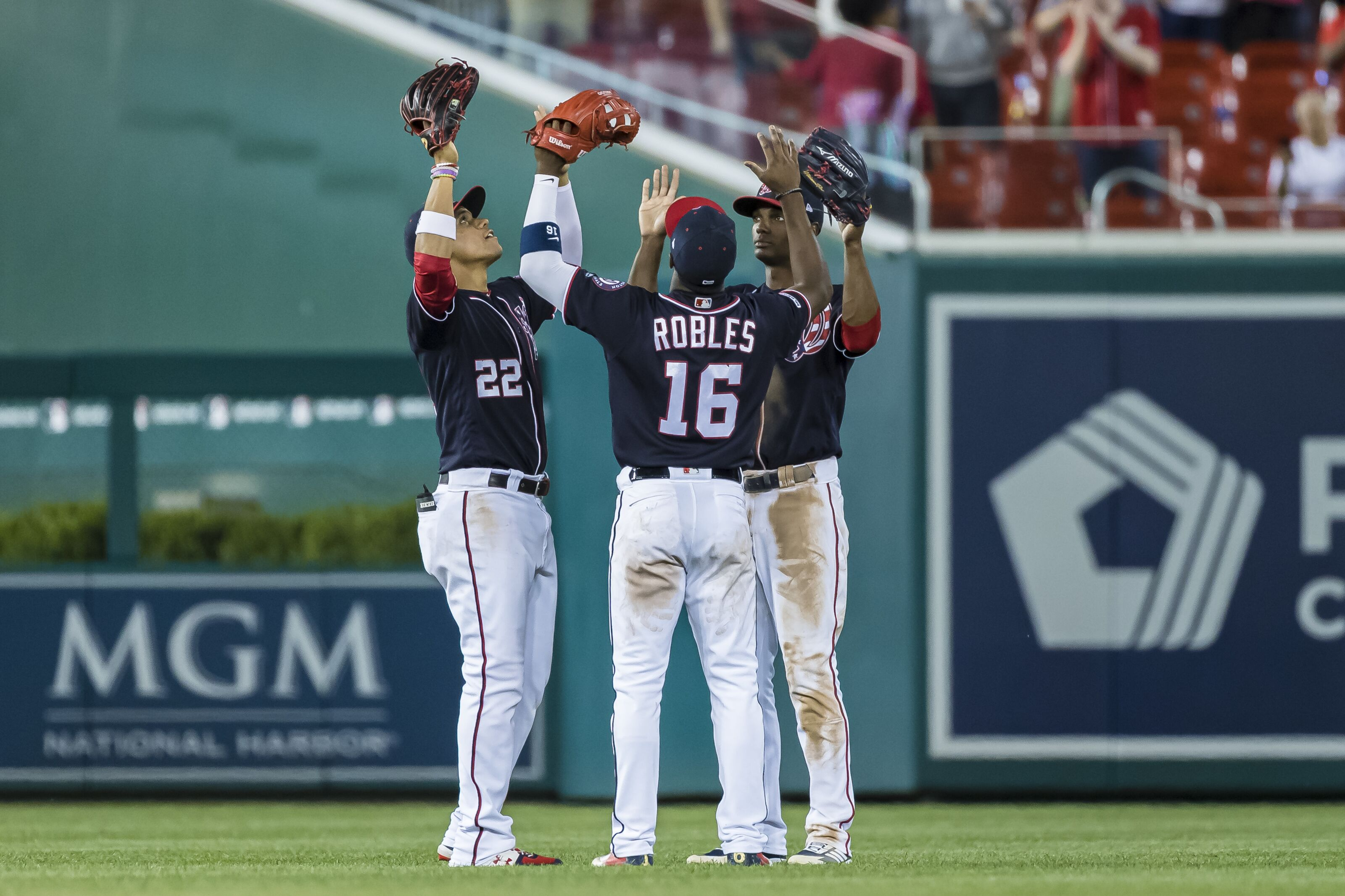 Nationals Outfield Depth Offers Intriguing Options