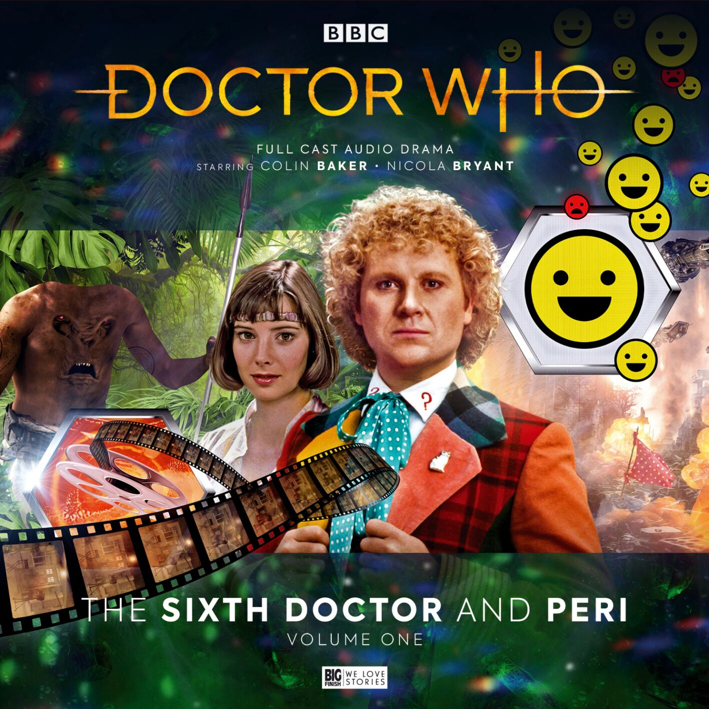 Doctor Who: The Sixth Doctor and Peri: Volume One announced!