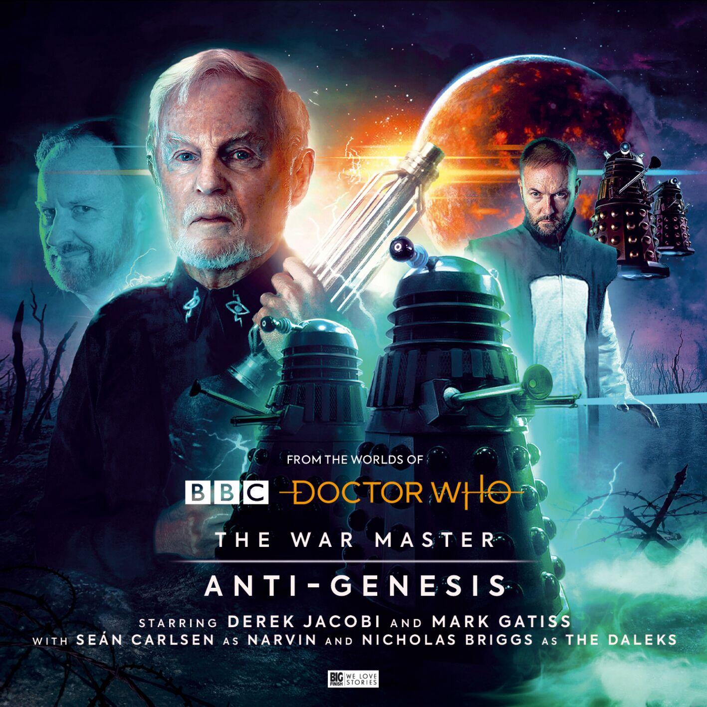 Doctor Who: Story details have been revealed for The War Master: Anti-Genesis!