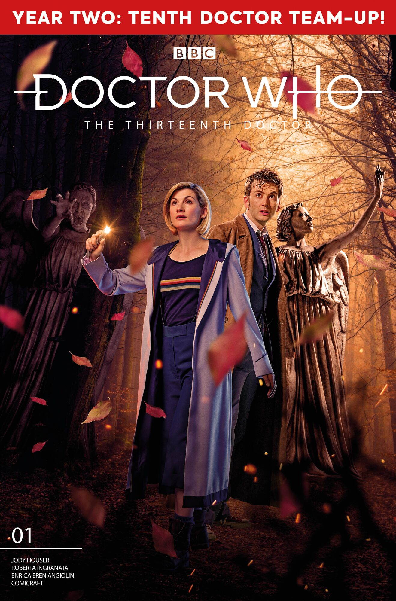 Doctor Who comics: The Thirteenth and Tenth Doctors join forces in January 2020!