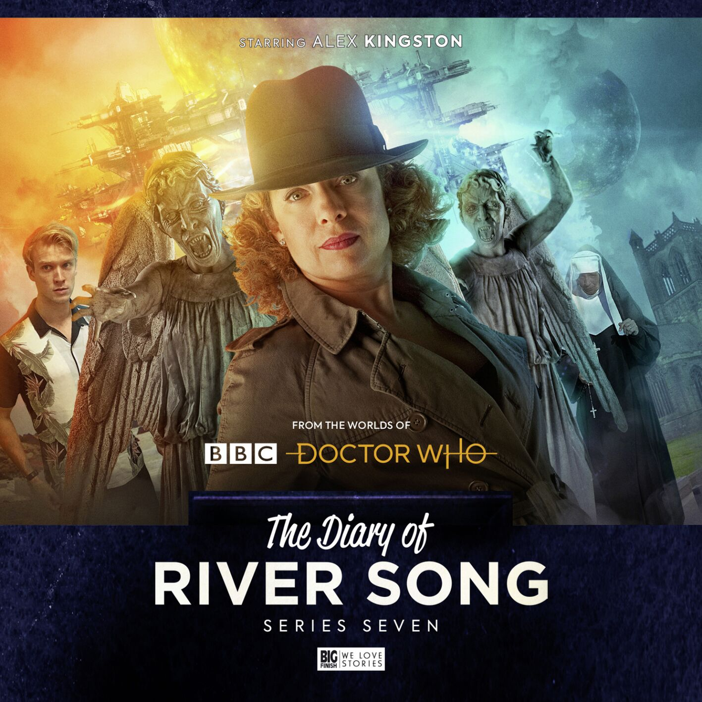 Doctor Who: River Song will face the Weeping Angels in the seventh series of her spin-off