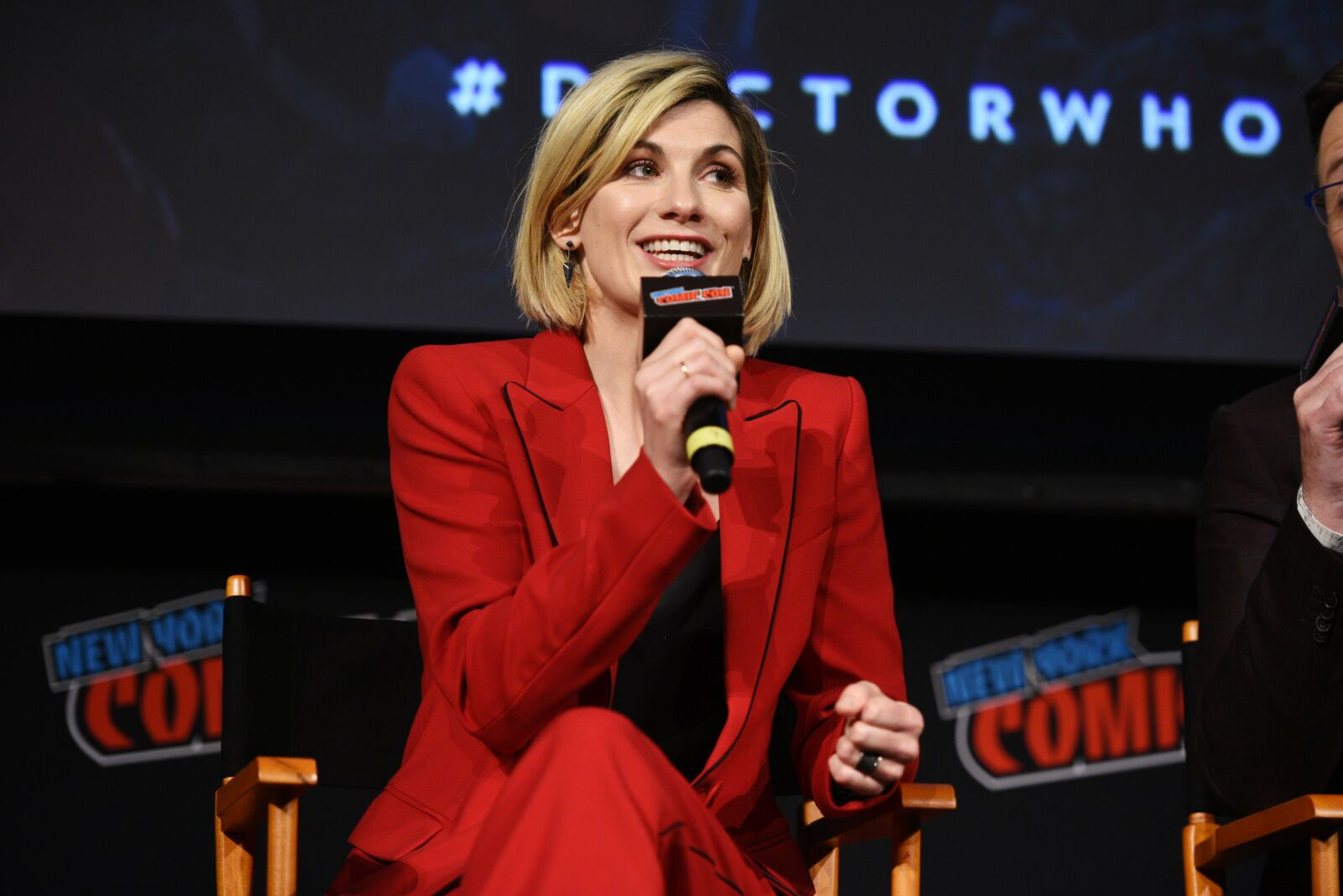 Doctor Who star Jodie Whittaker is adorable to watch when Coldplay surprise her