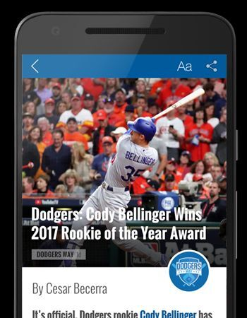 Los Angeles Dodgers: Dodgers Way Launches App For iOS and Android