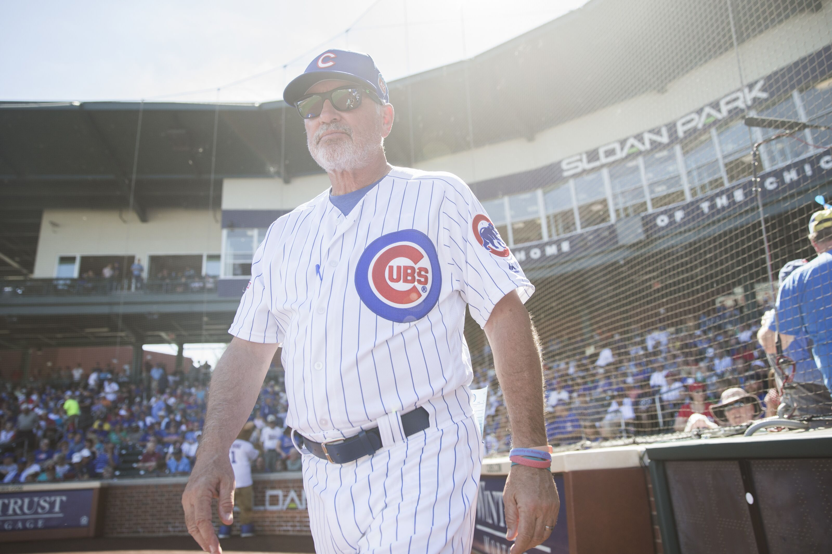Who will win a title first, Joe Maddon's Angels or Dave Roberts' Dodgers?
