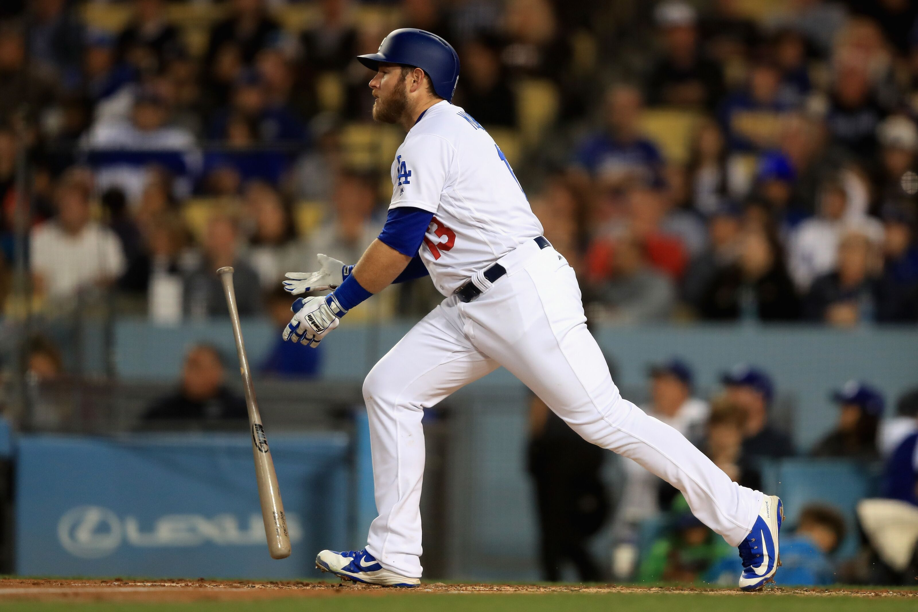 Dodgers  Max Muncy Settling Nicely Into a Starting Role b74e7800965