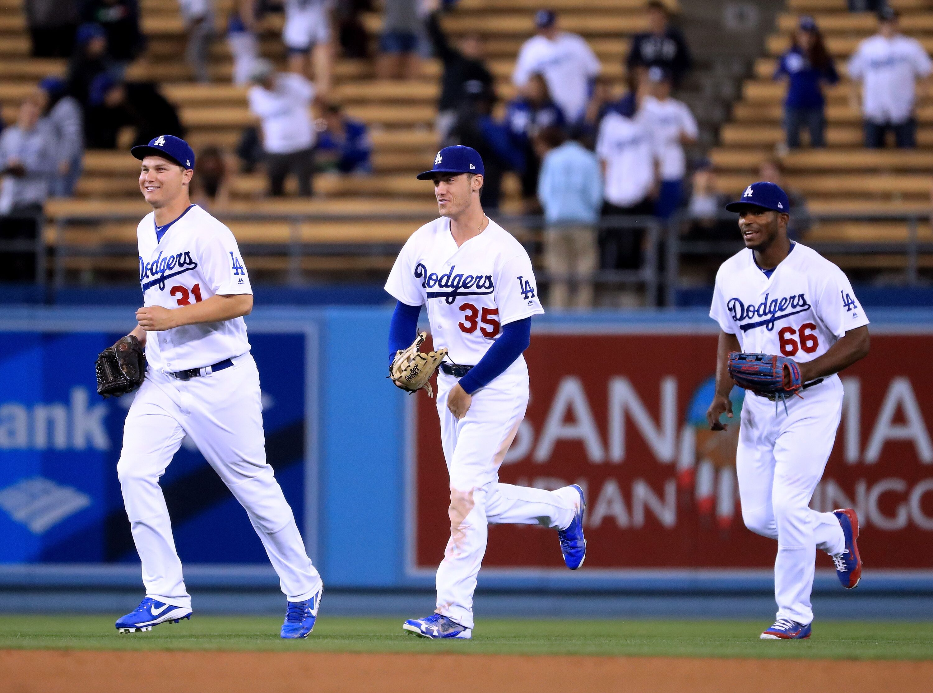 eea97a29b Dodgers  Predicting the Outfield Come Playoff Time