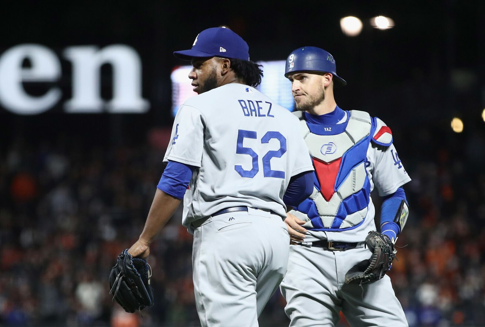 buy online d0410 9f824 Dodgers: The Baez Boo That Was Heard Around the World
