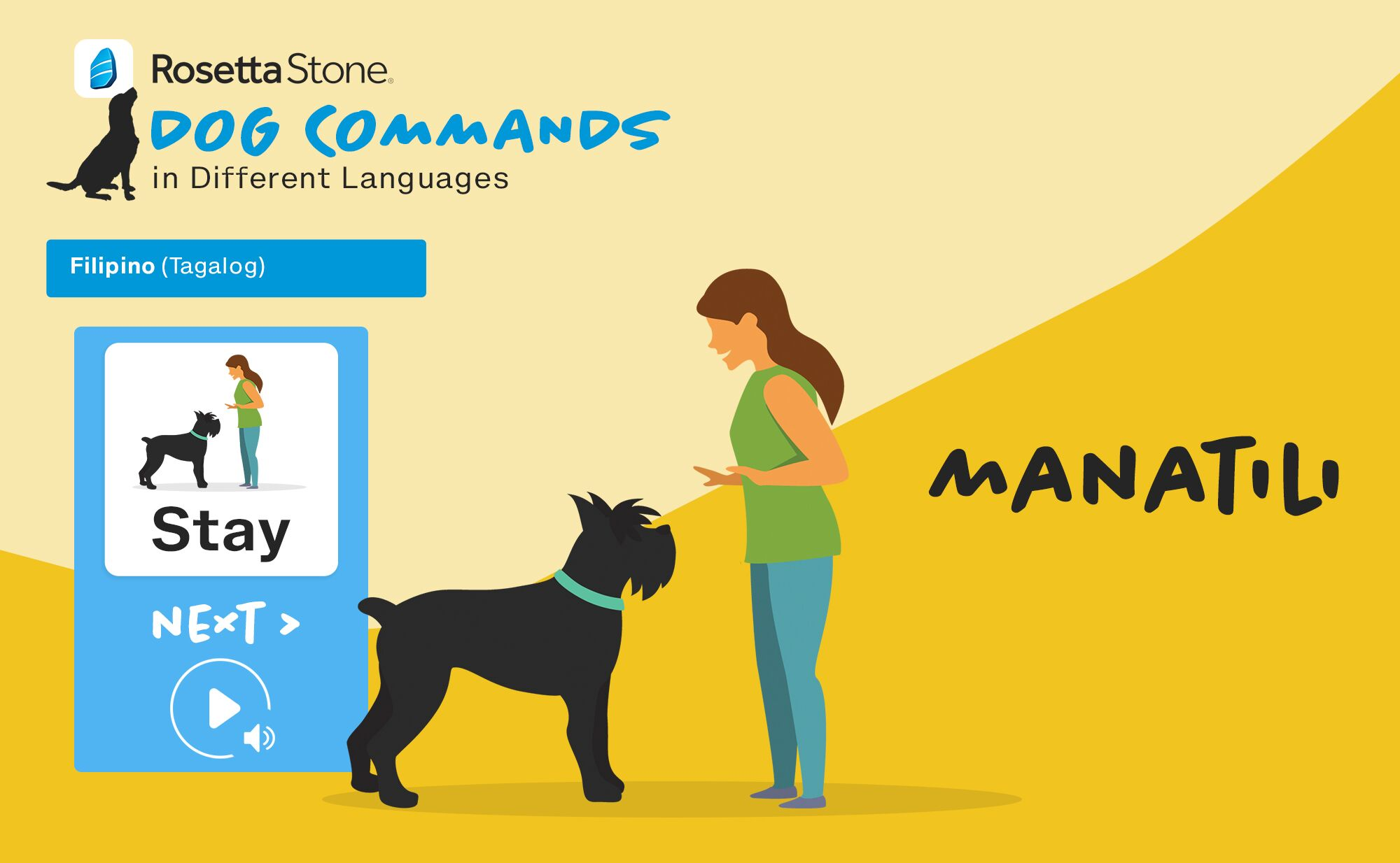 Rosetta Stone is going to the dogs for National Dog Day