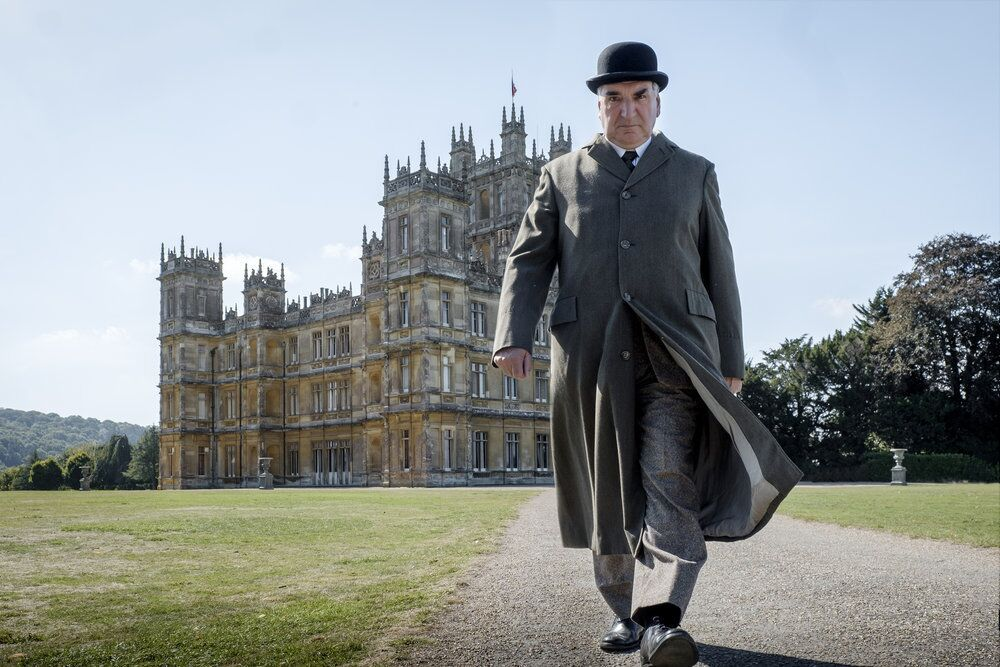 Highclere Castle of Downton Abbey fame gives us some dog love on Insta